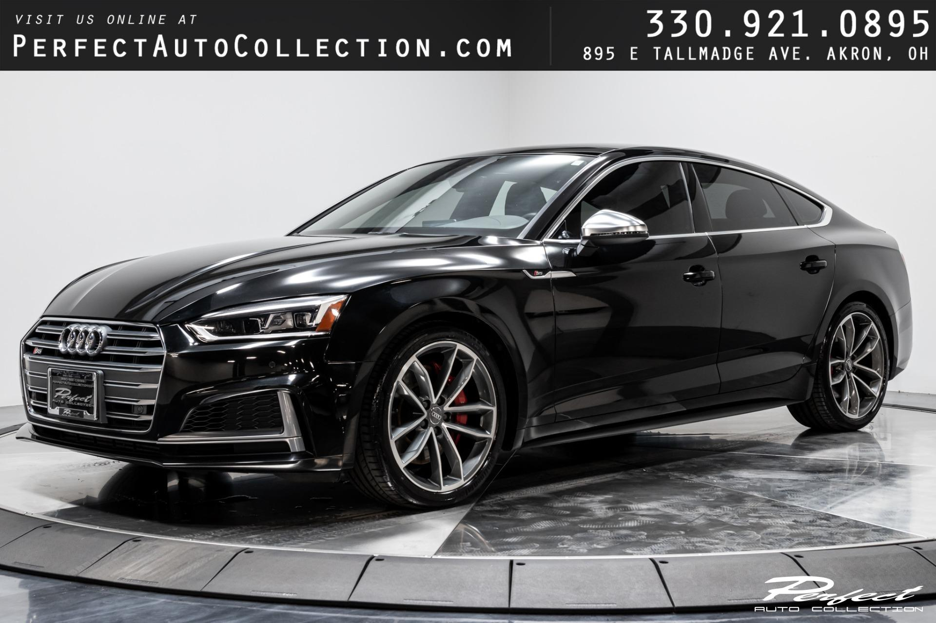 Used 2018 Audi S5 Sportback 3.0T quattro Premium Plus for sale $41,993 at Perfect Auto Collection in Akron OH 44310 1