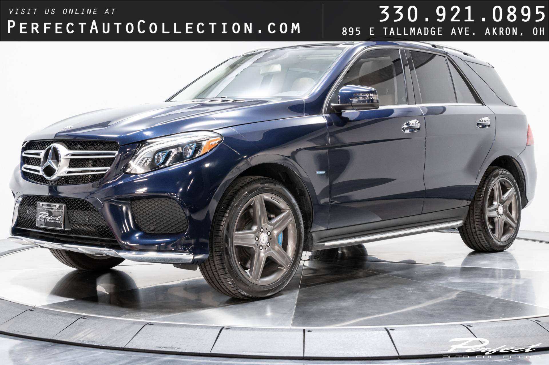 Used 2017 Mercedes-Benz GLE GLE 550e 4MATIC for sale $36,793 at Perfect Auto Collection in Akron OH 44310 1