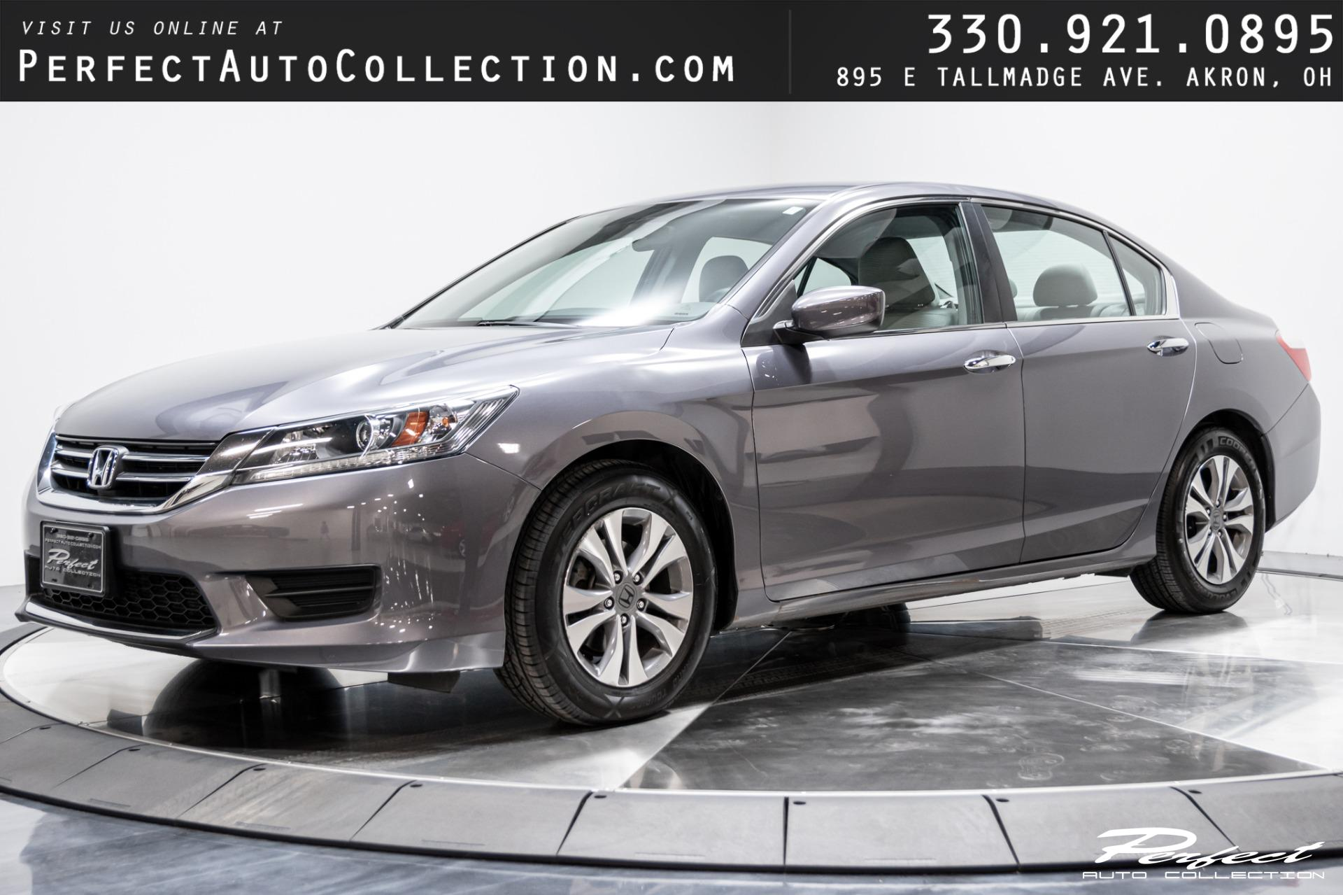 Used 2015 Honda Accord LX for sale Sold at Perfect Auto Collection in Akron OH 44310 1