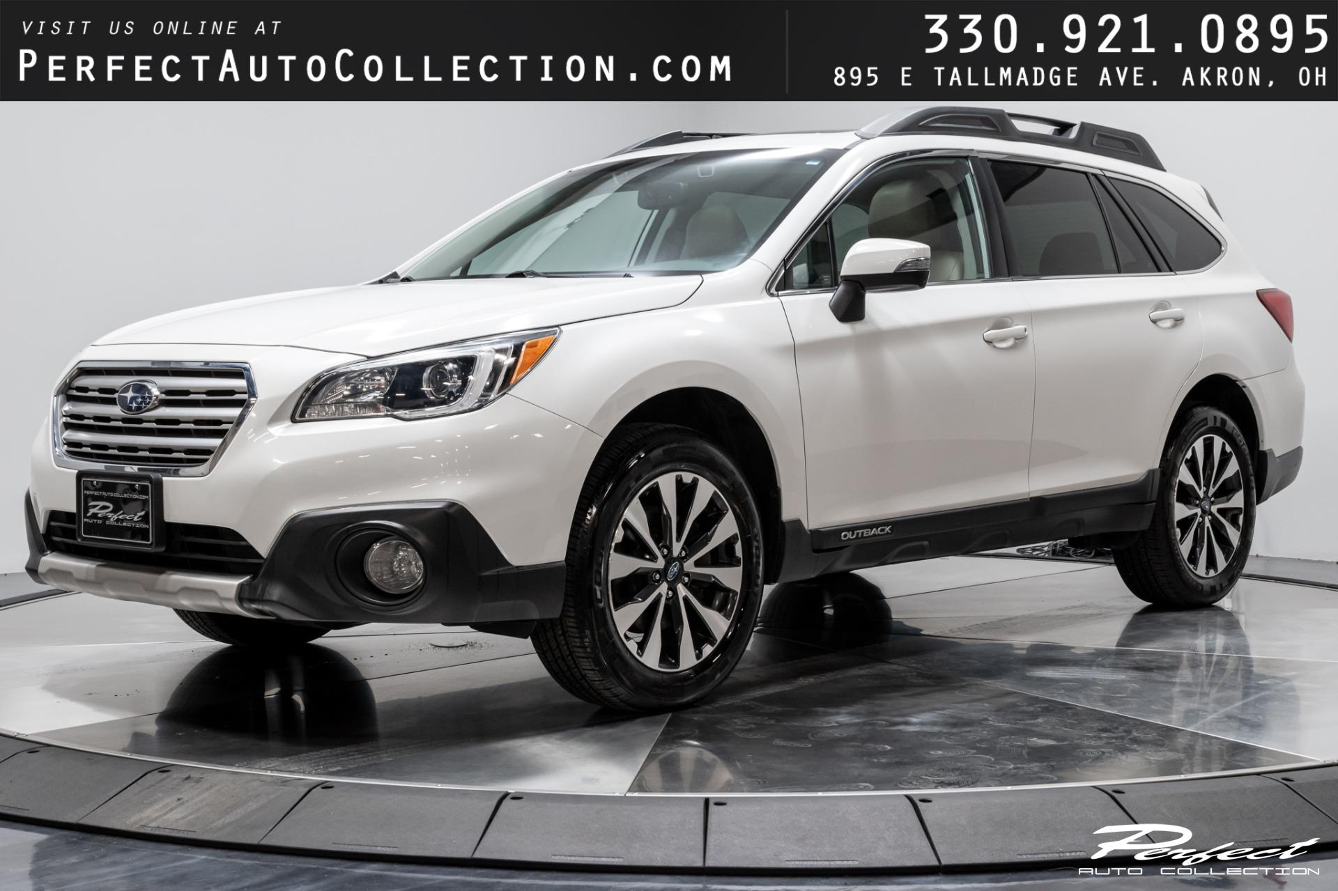 Used 2016 Subaru Outback 2.5i Limited for sale $17,493 at Perfect Auto Collection in Akron OH 44310 1
