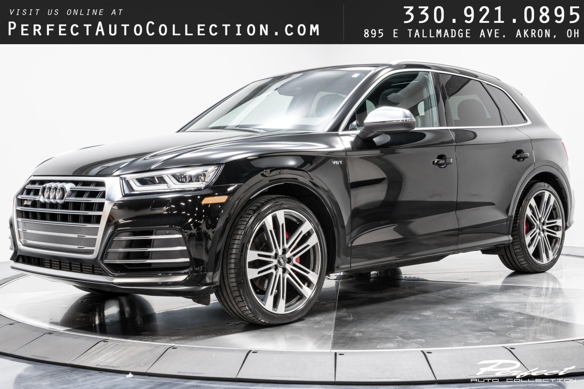 Used 2018 Audi SQ5 3.0T quattro Premium Plus for sale Sold at Perfect Auto Collection in Akron OH 44310 1