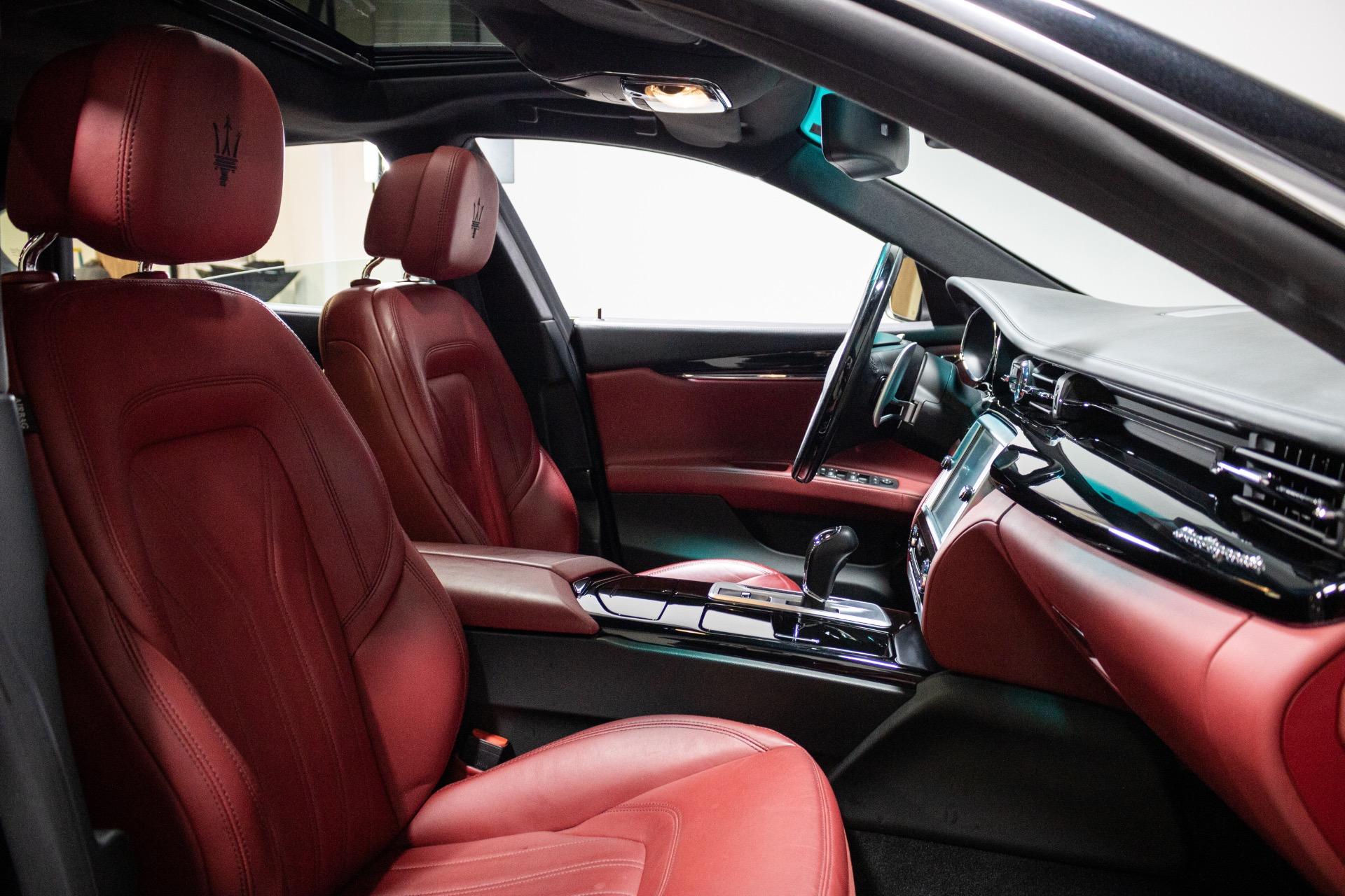 Used 2016 Maserati Quattroporte S Q4 Sedan 4D