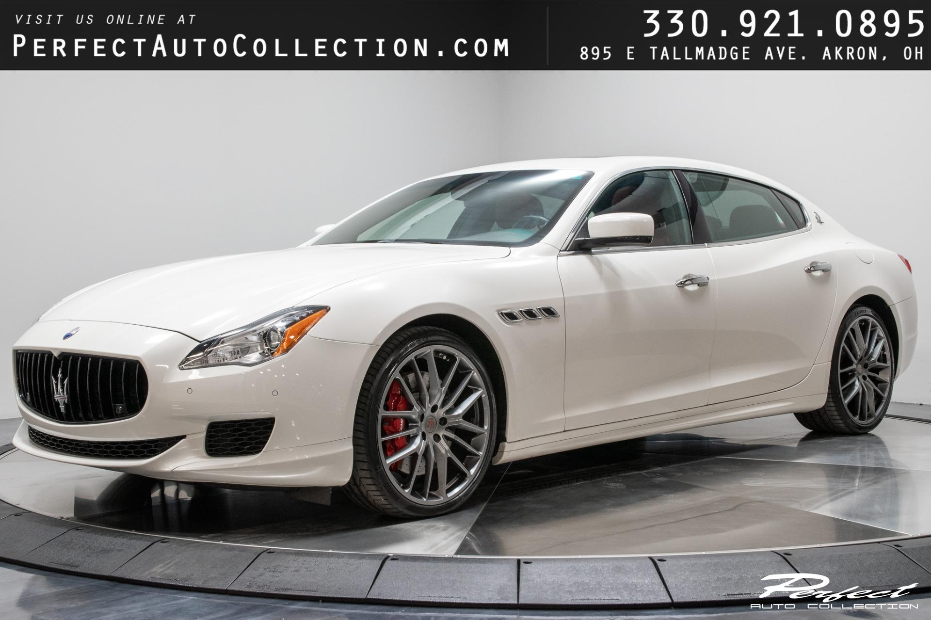 Used 2015 Maserati Quattroporte GTS for sale Sold at Perfect Auto Collection in Akron OH 44310 1