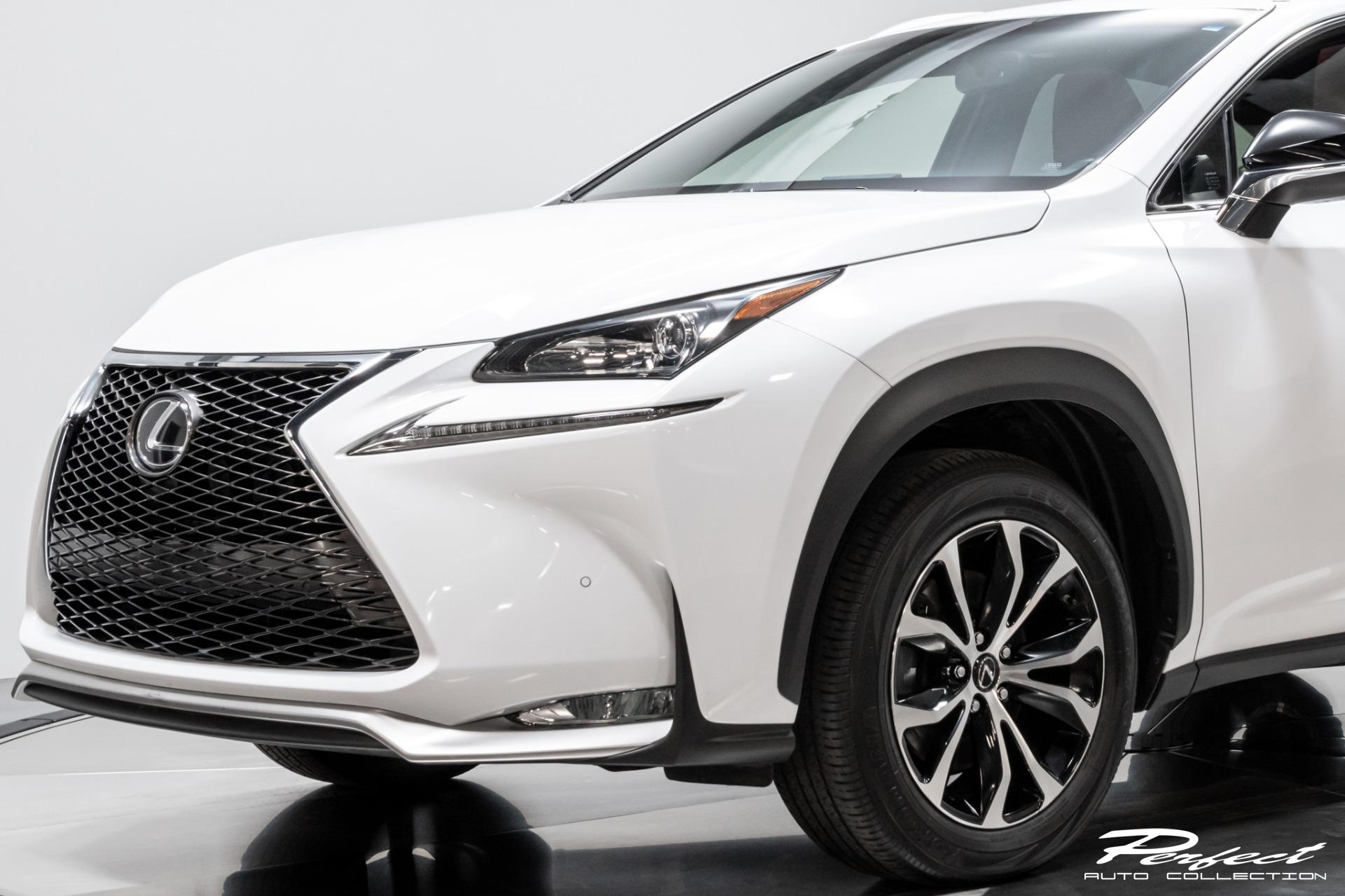 Used 2016 Lexus NX 200t F SPORT for sale Sold at Perfect Auto Collection in Akron OH 44310 3