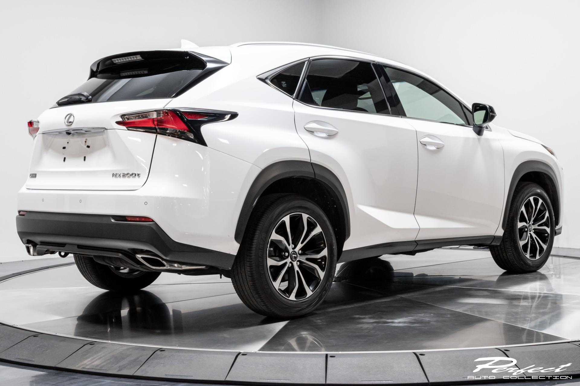 Used 2016 Lexus NX 200t F SPORT for sale Sold at Perfect Auto Collection in Akron OH 44310 4