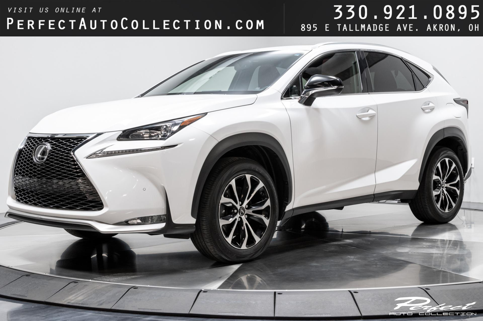 Used 2016 Lexus NX 200t F SPORT for sale Sold at Perfect Auto Collection in Akron OH 44310 1