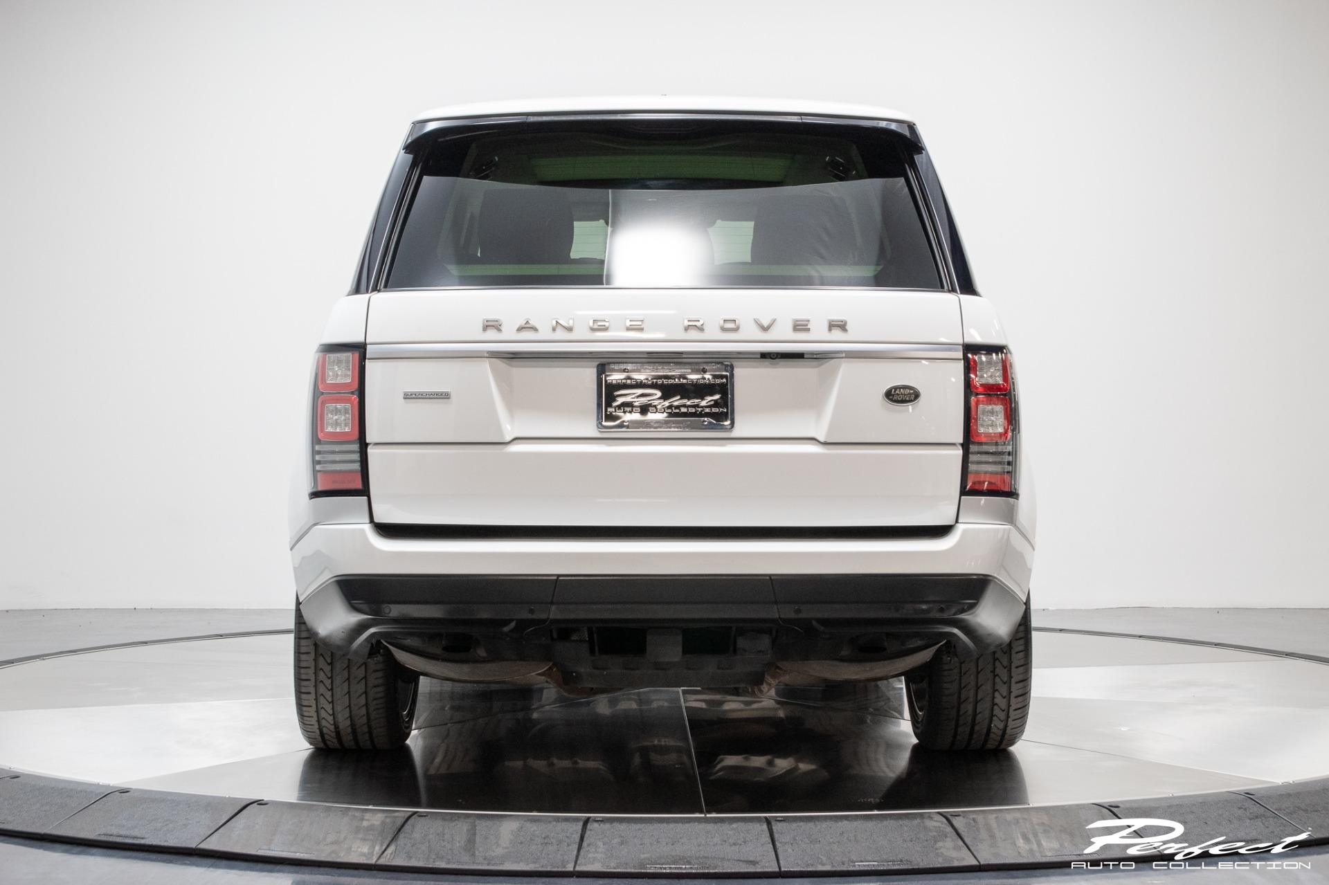 Used 2014 Land Rover Range Rover Supercharged