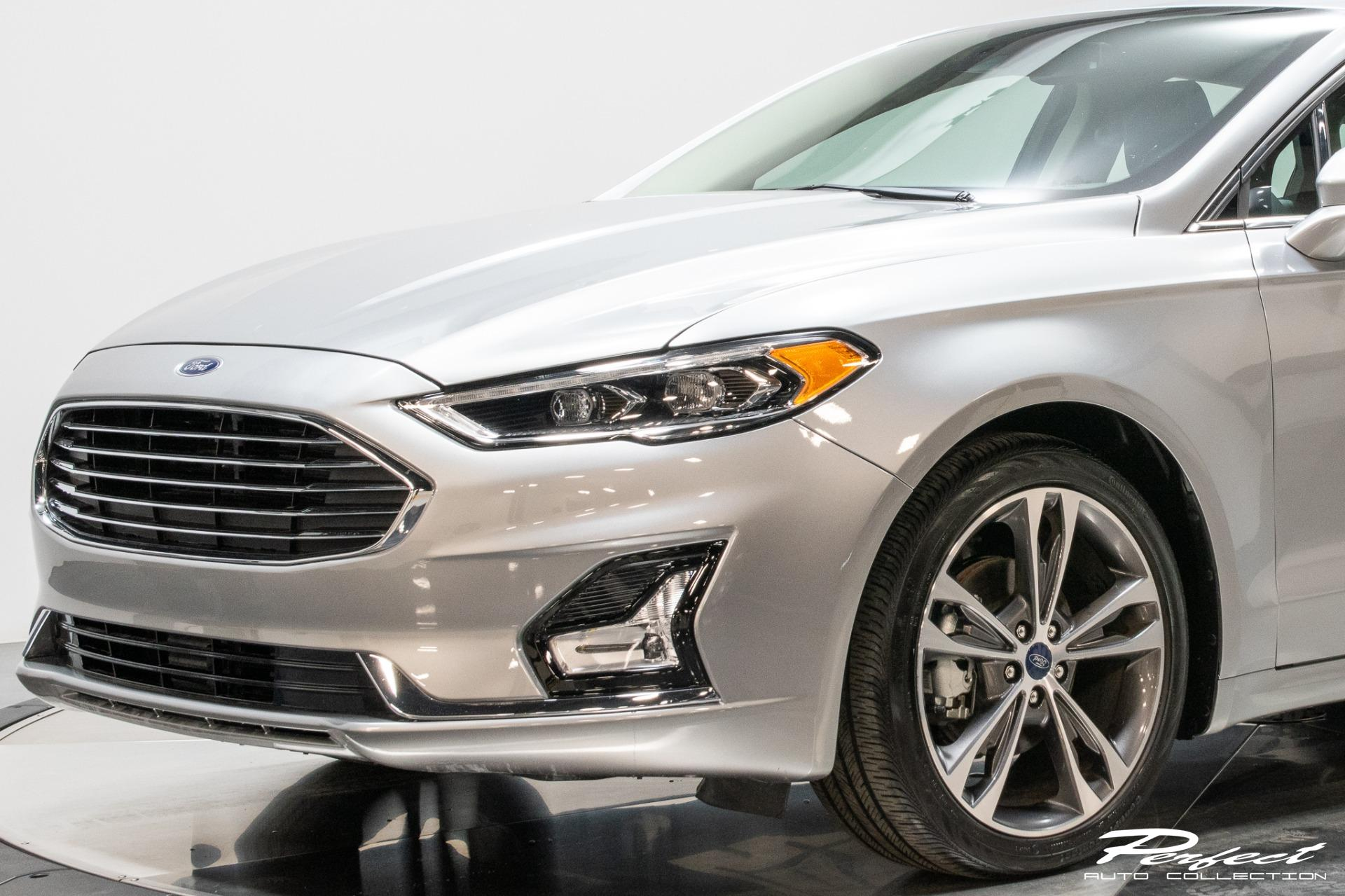 Used 2020 Ford Fusion Titanium for sale Sold at Perfect Auto Collection in Akron OH 44310 3