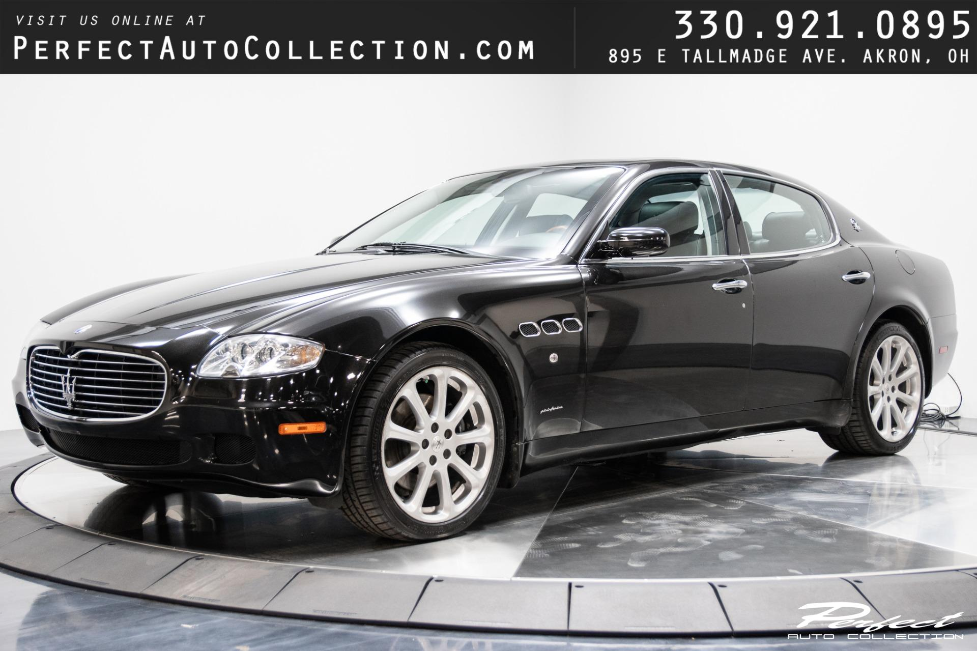Used 2006 Maserati Quattroporte Base for sale $17,493 at Perfect Auto Collection in Akron OH 44310 1