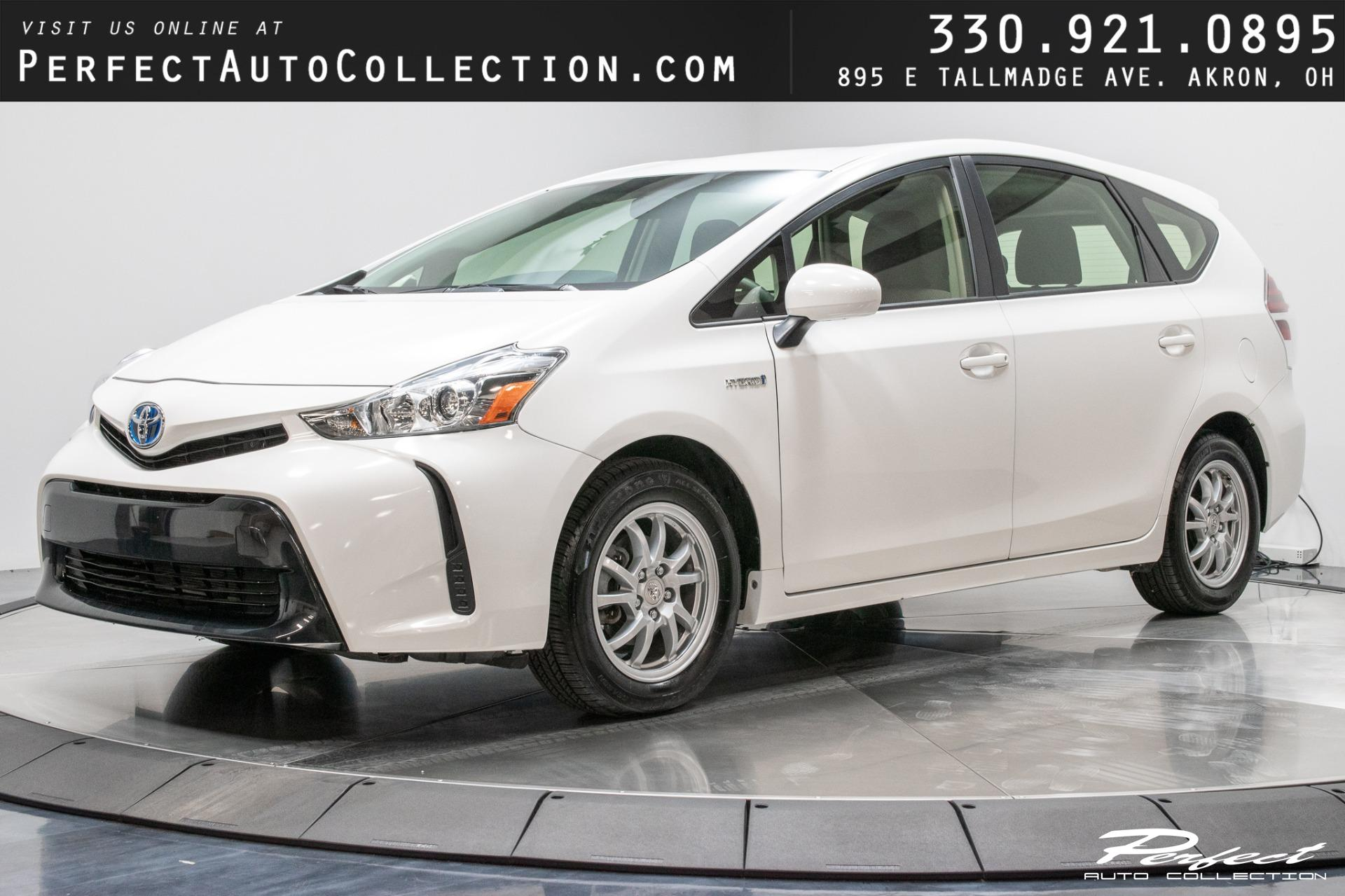 Used 2017 Toyota Prius v Two for sale $16,495 at Perfect Auto Collection in Akron OH 44310 1