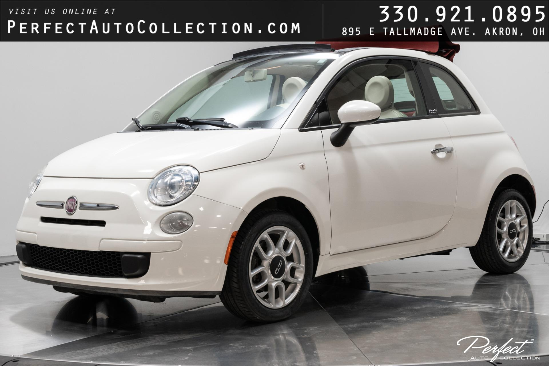Used 2012 FIAT 500c Pop for sale $10,293 at Perfect Auto Collection in Akron OH 44310 1