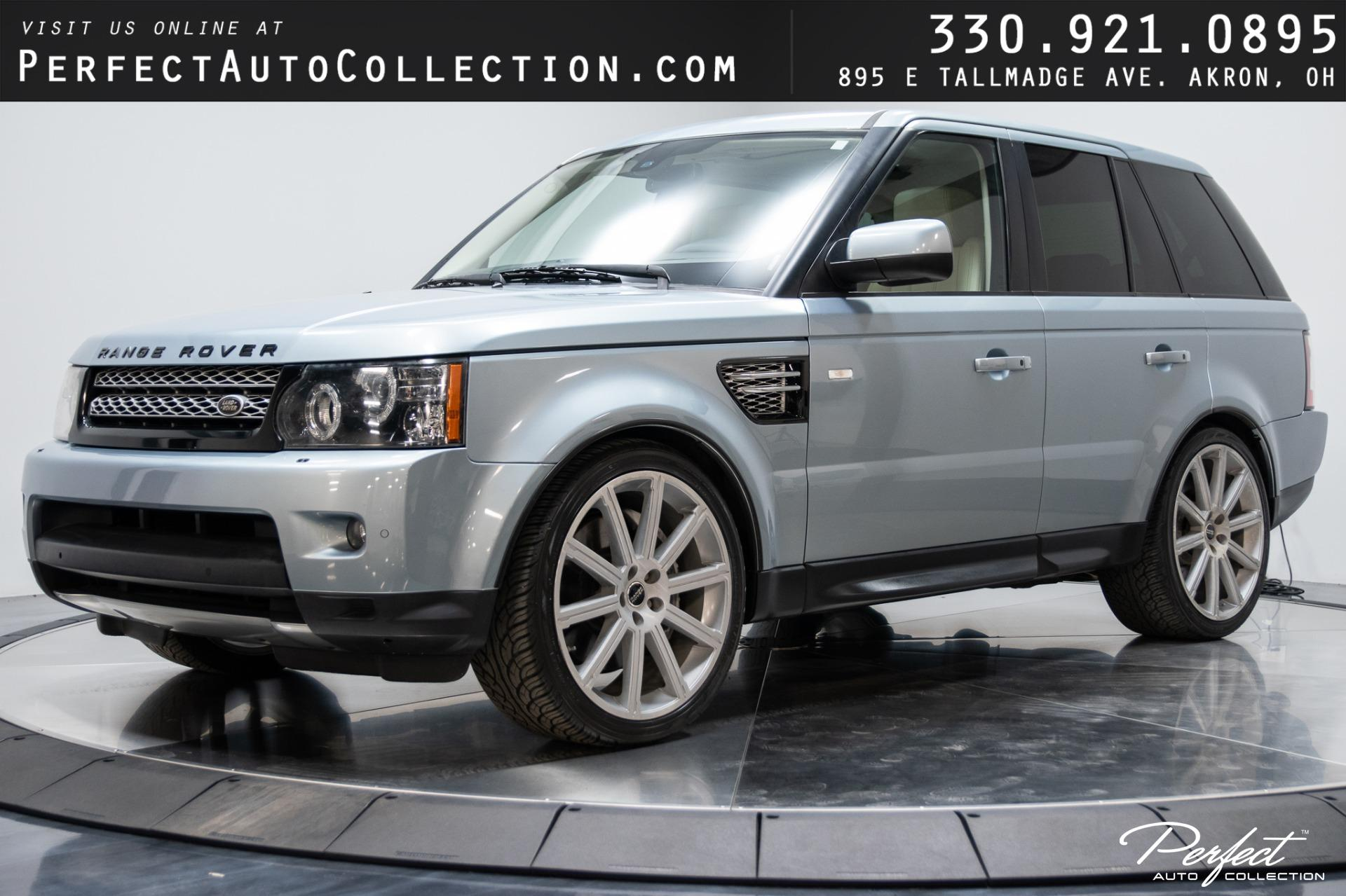 Used 2012 Land Rover Range Rover Sport Supercharged for sale $26,493 at Perfect Auto Collection in Akron OH 44310 1