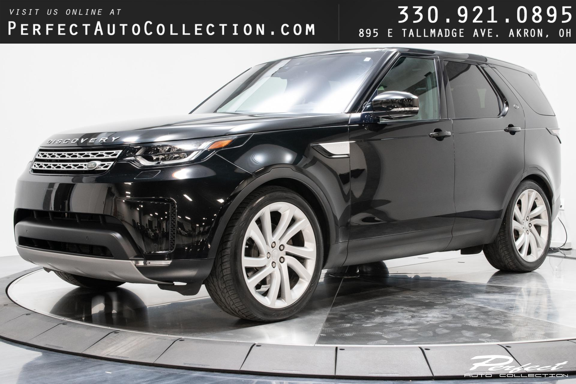 Used 2017 Land Rover Discovery HSE Td6 for sale Sold at Perfect Auto Collection in Akron OH 44310 1