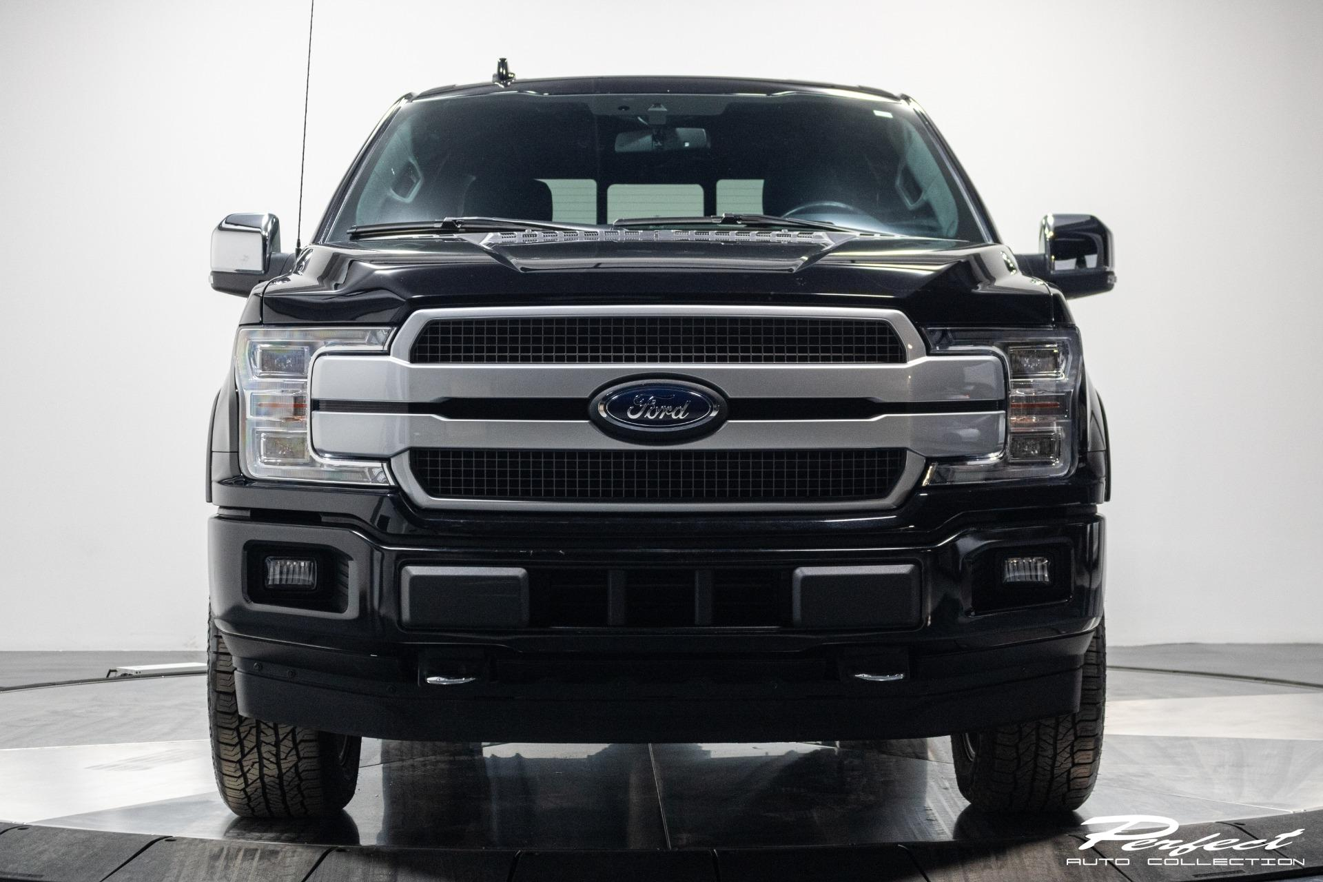 Used 2019 Ford F150 SuperCrew Cab Platinum Pickup 4D 6 12 ft
