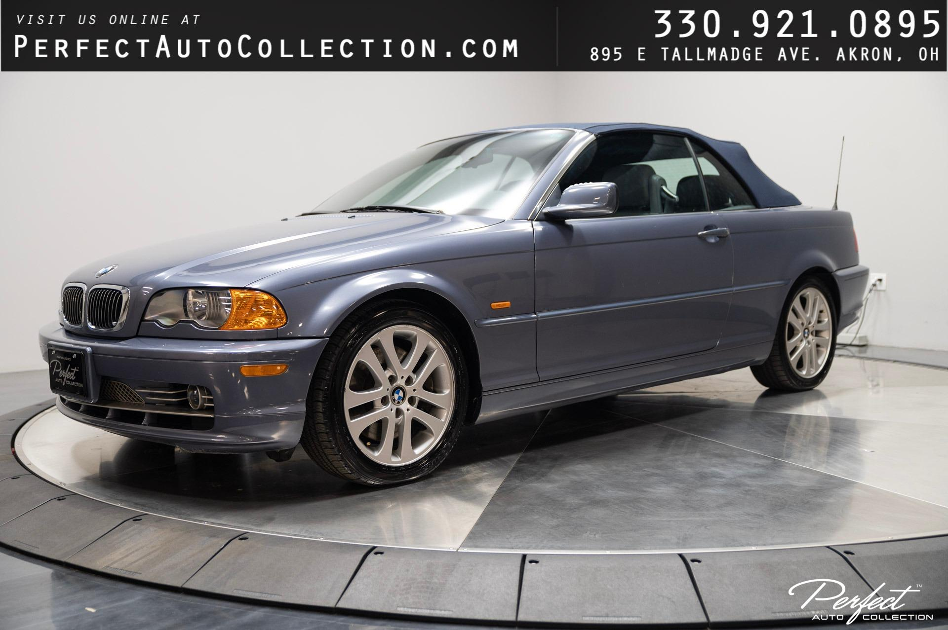 Used 2002 BMW 3 Series 330Ci for sale $7,995 at Perfect Auto Collection in Akron OH 44310 1