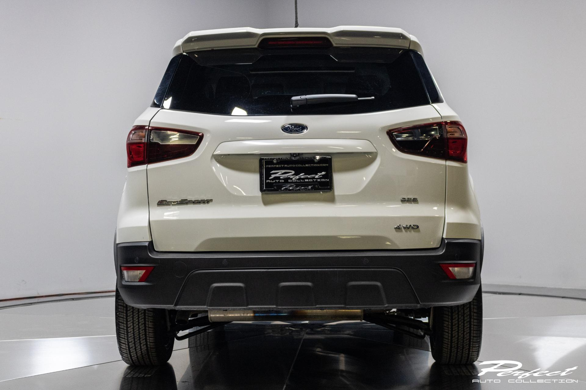 Used 2019 Ford EcoSport SES Sport Utility 4D