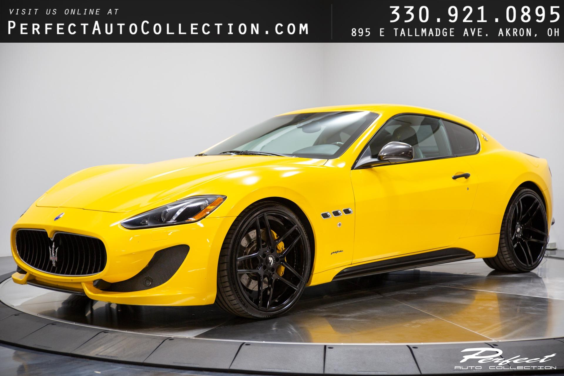 Used 2013 Maserati GranTurismo MC Package for sale Sold at Perfect Auto Collection in Akron OH 44310 1