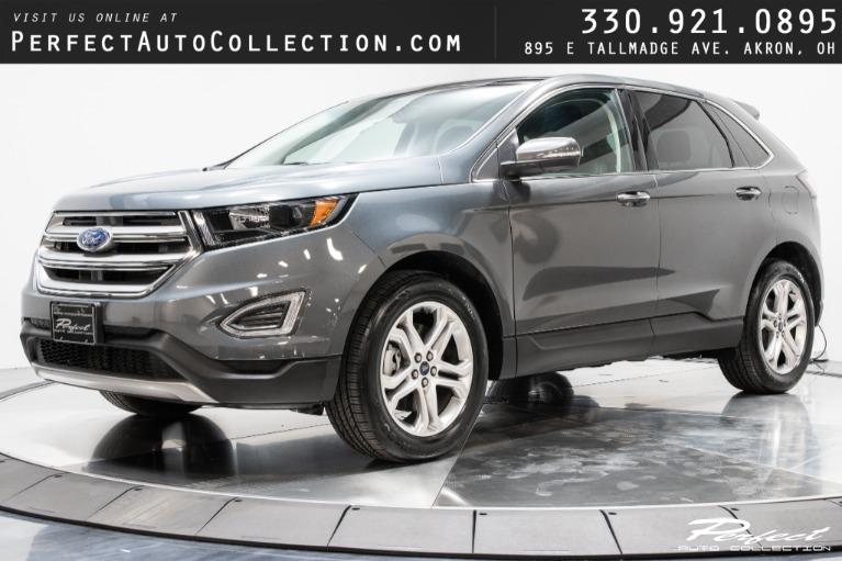 Used 2018 Ford Edge Titanium for sale $29,983 at Perfect Auto Collection in Akron OH