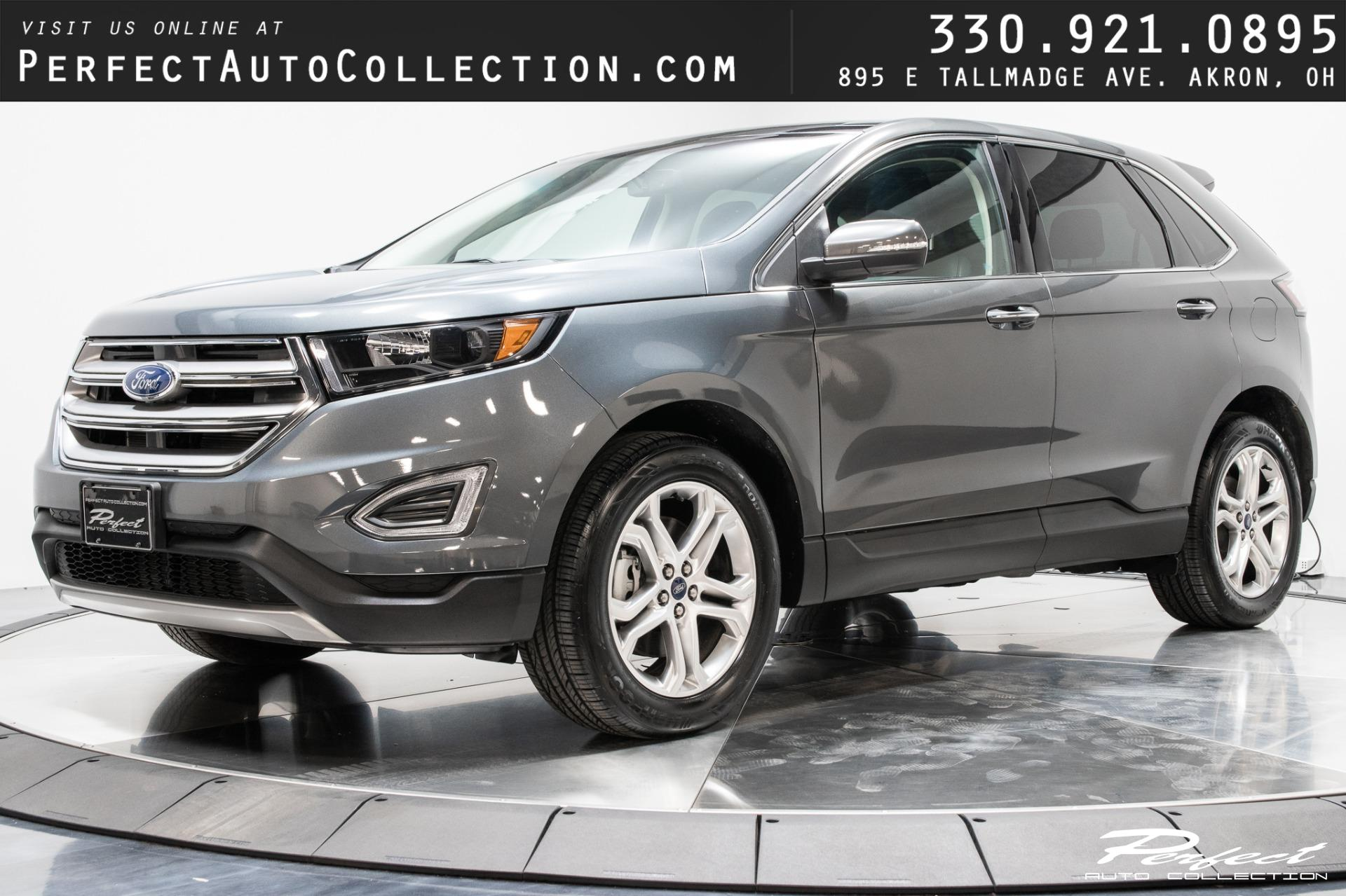 Used 2018 Ford Edge Titanium for sale $29,983 at Perfect Auto Collection in Akron OH 44310 1