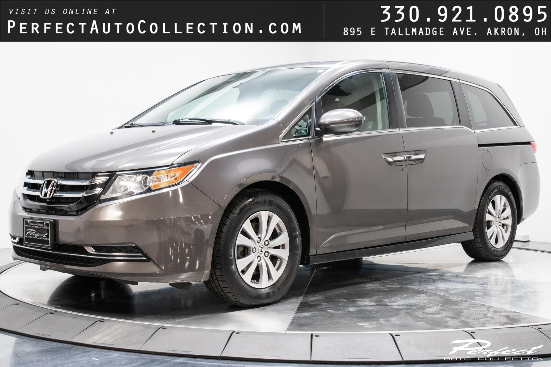 Used 2015 Honda Odyssey EX-L for sale Sold at Perfect Auto Collection in Akron OH 44310 1