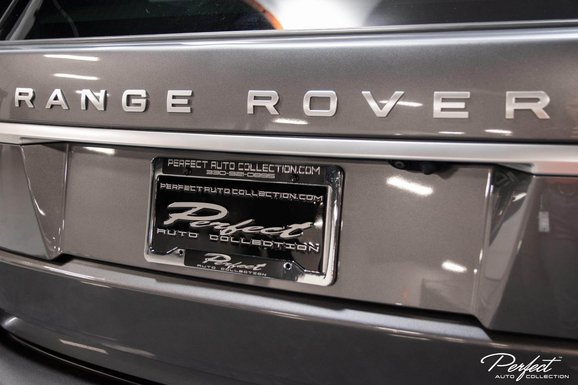 Used 2016 Land Rover Range Rover Supercharged
