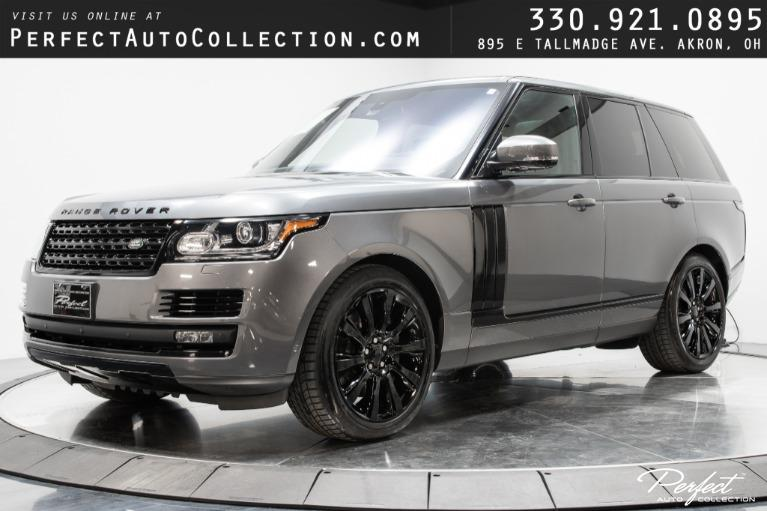 Used 2016 Land Rover Range Rover Supercharged for sale $61,993 at Perfect Auto Collection in Akron OH