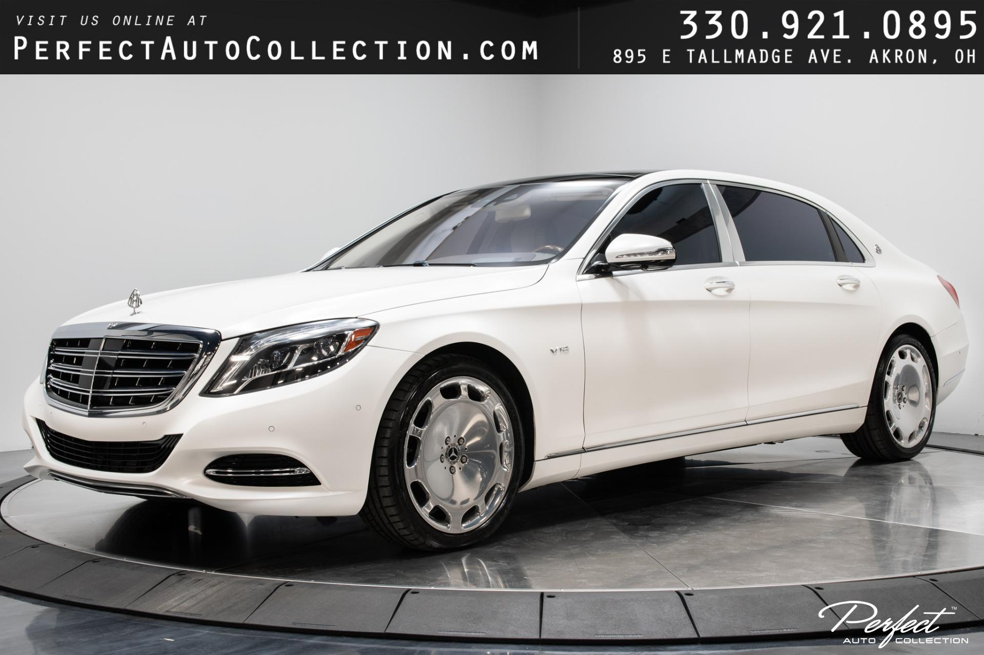 Used 2017 Mercedes-Benz S-Class Mercedes-Maybach S 600 for sale $118,995 at Perfect Auto Collection in Akron OH 44310 1