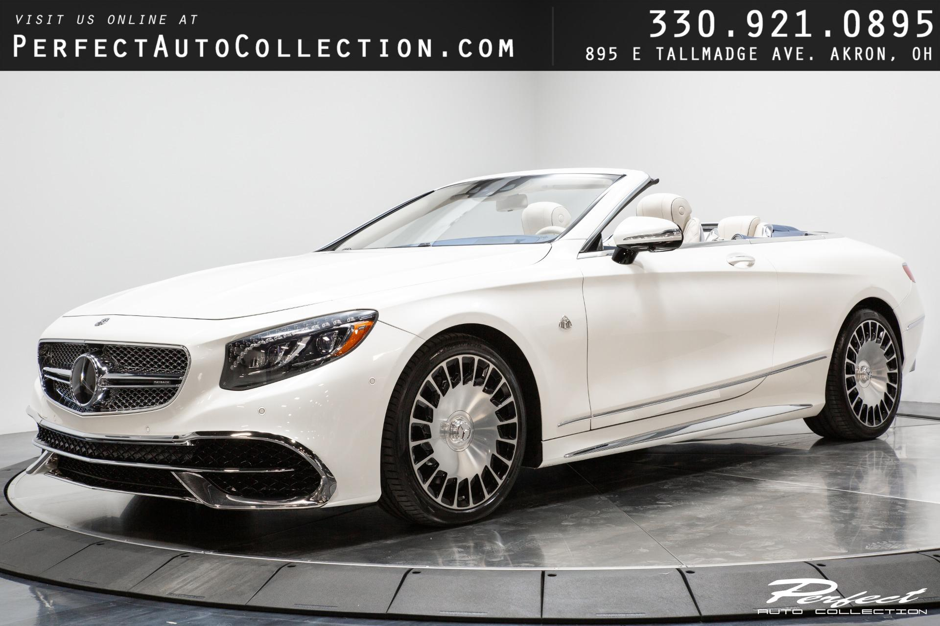 Used 2017 Mercedes-Benz S-Class Maybach S 650 Cabriolet for sale $217,995 at Perfect Auto Collection in Akron OH 44310 1