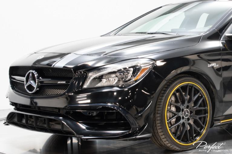 Used 2018 Mercedes Benz CLA AMG CLA 45 Yellow Edition