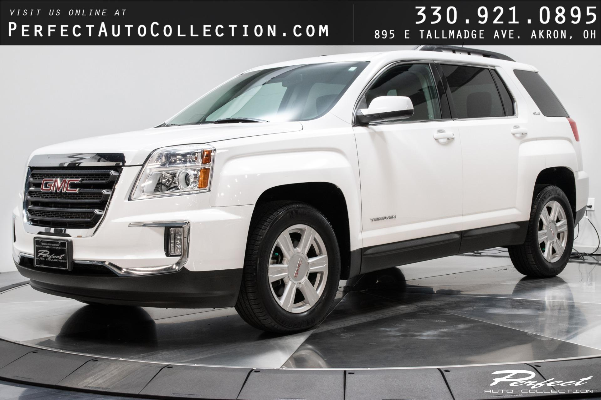 Used 2016 GMC Terrain SLE-2 for sale $15,993 at Perfect Auto Collection in Akron OH 44310 1