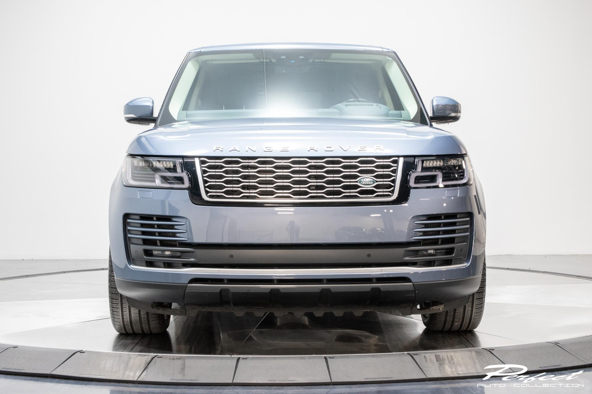 Used 2020 Land Rover Range Rover Supercharged LWB