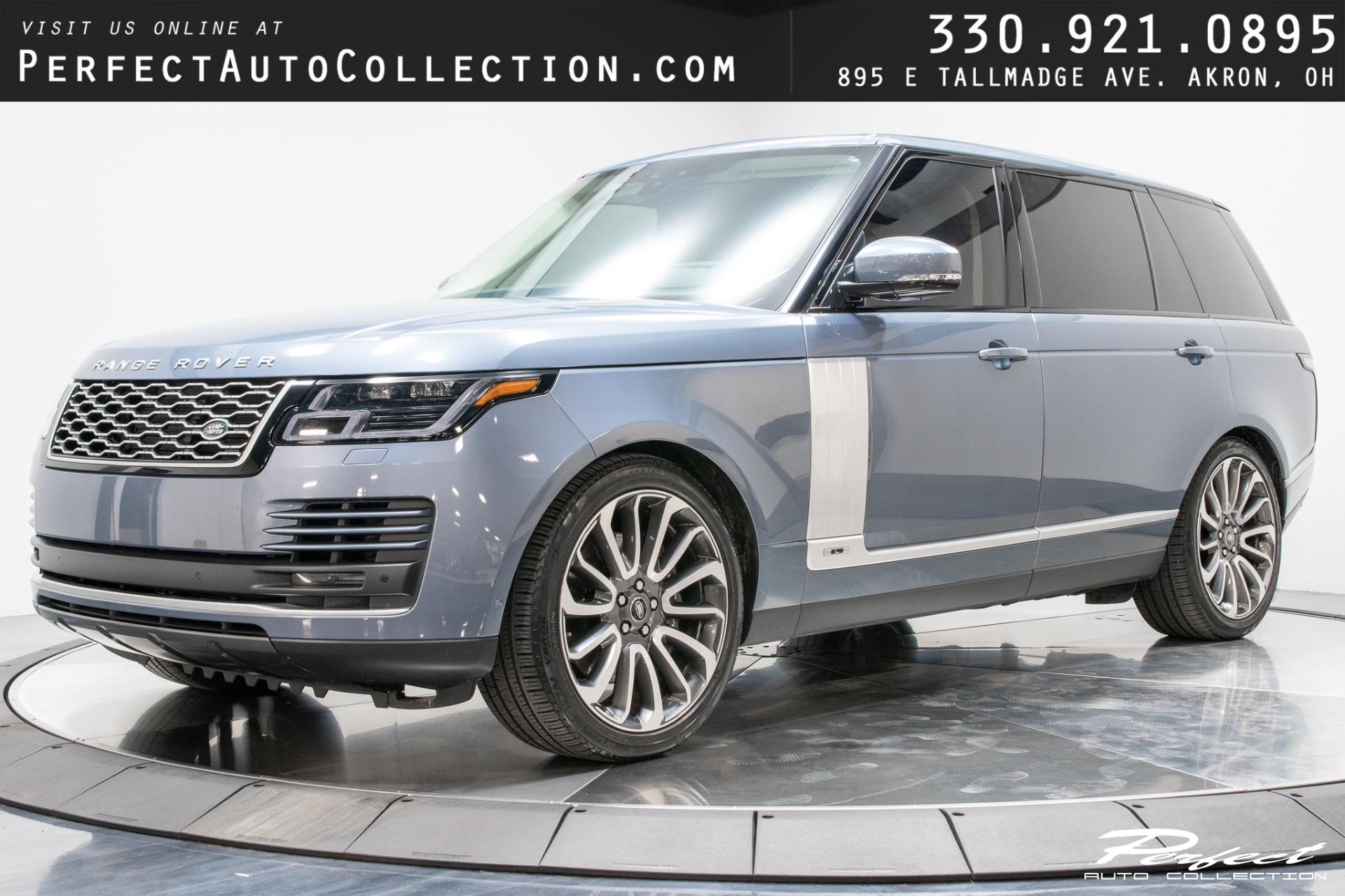 Used 2020 Land Rover Range Rover Supercharged LWB for sale Sold at Perfect Auto Collection in Akron OH 44310 1