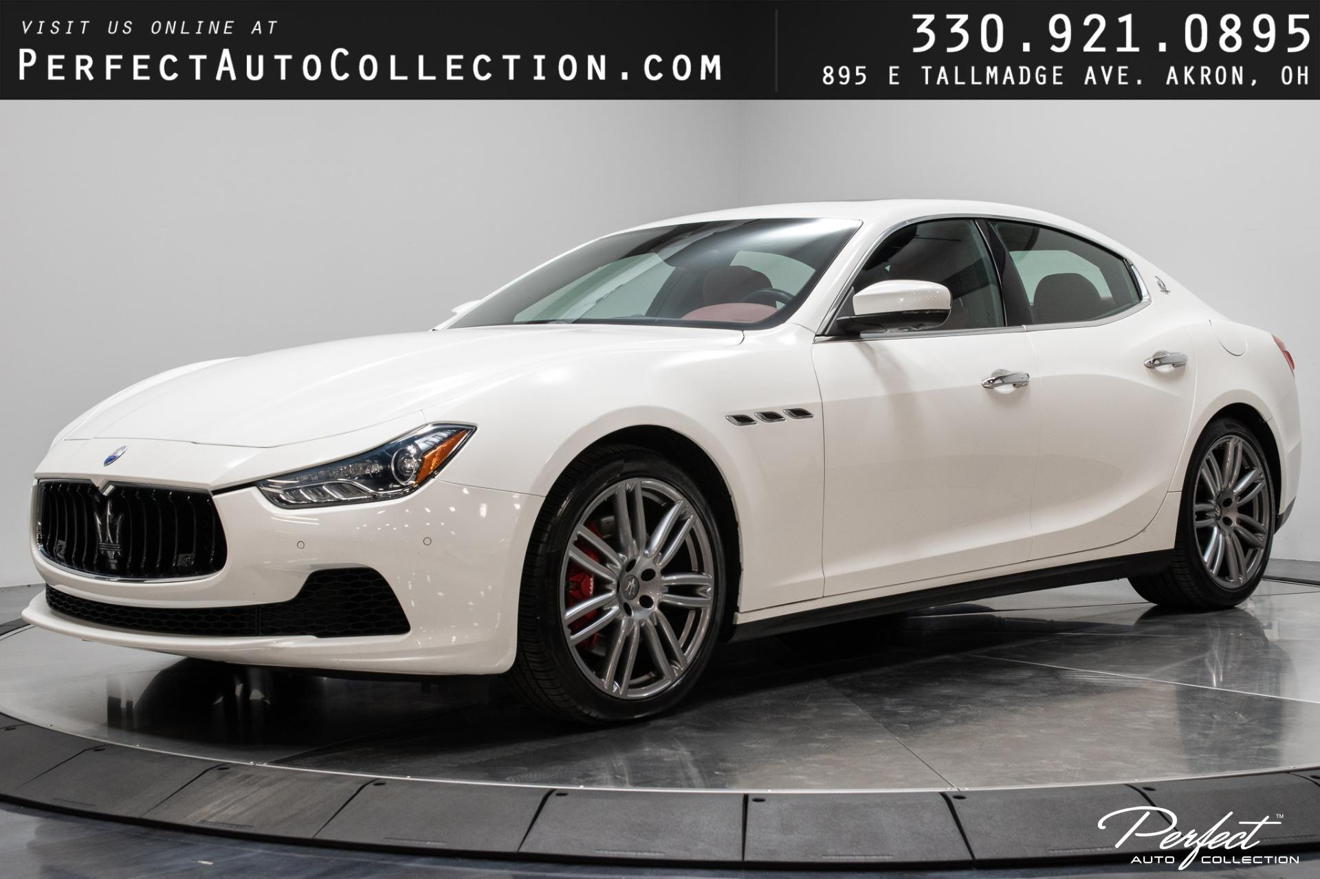 Used 2017 Maserati Ghibli S Q4 for sale $40,495 at Perfect Auto Collection in Akron OH 44310 1