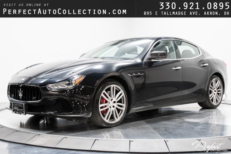 Used 2017 Maserati Ghibli S Q4 for sale $40,395 at Perfect Auto Collection in Akron OH