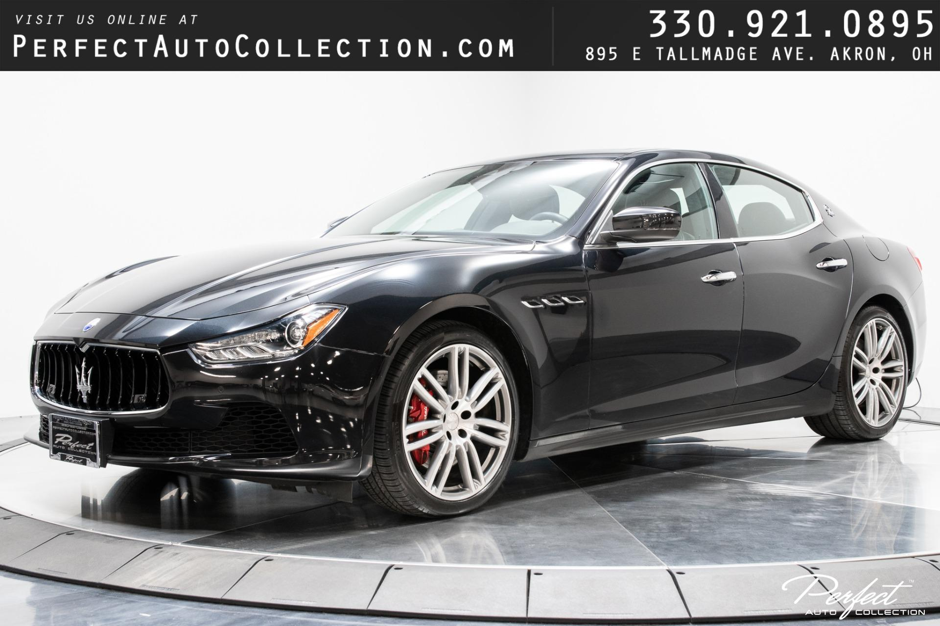 Used 2017 Maserati Ghibli S Q4 for sale $38,495 at Perfect Auto Collection in Akron OH 44310 1