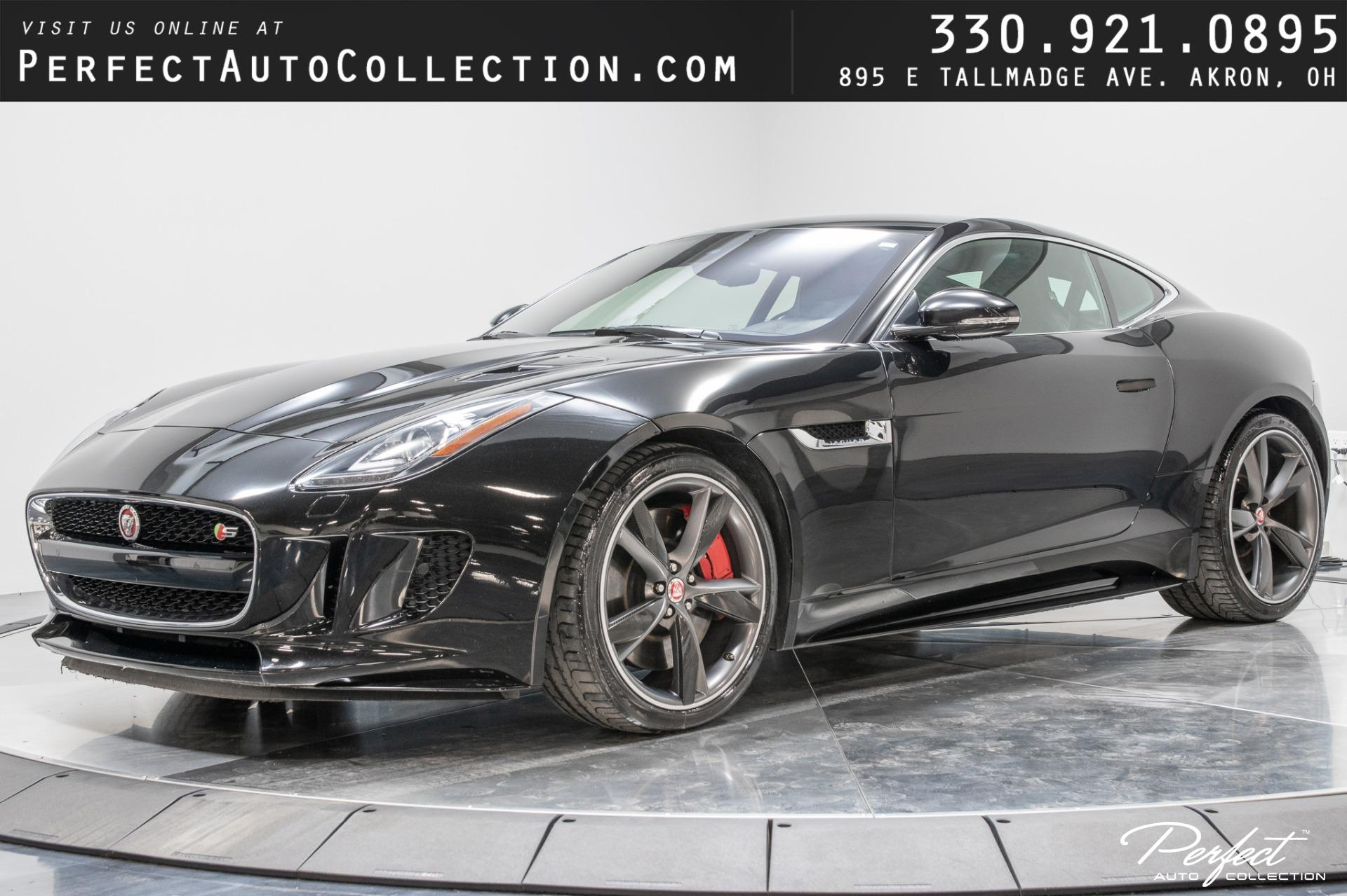 Used 2017 Jaguar F-TYPE S for sale $46,495 at Perfect Auto Collection in Akron OH 44310 1