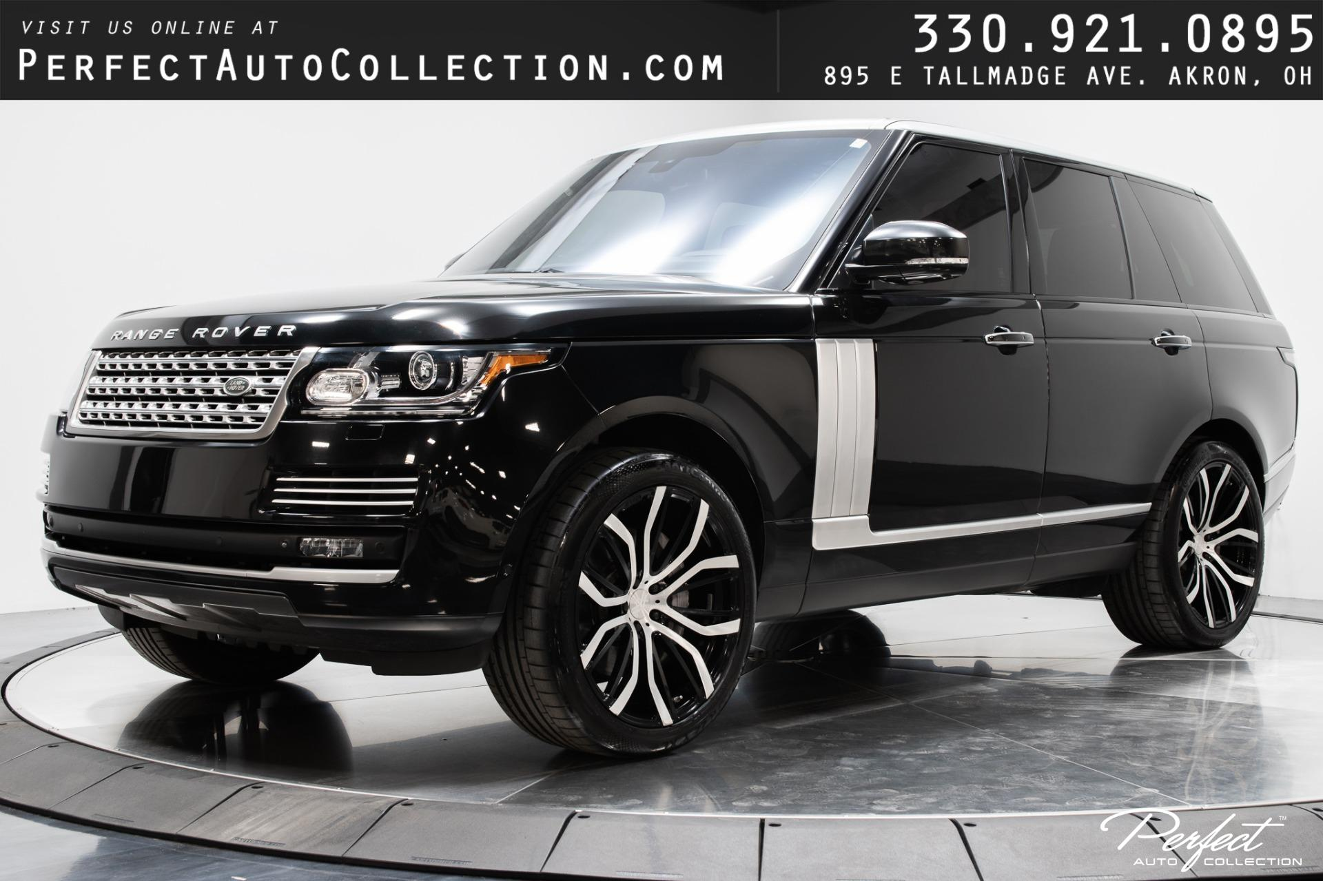 Used 2014 Land Rover Range Rover Autobiography for sale Sold at Perfect Auto Collection in Akron OH 44310 1