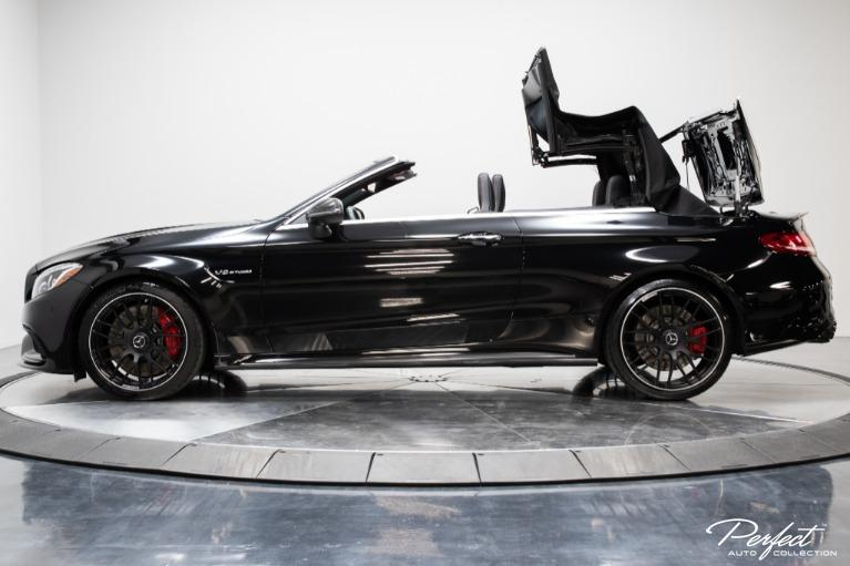 Used 2018 Mercedes Benz C Class AMG C 63 S Cabriolet