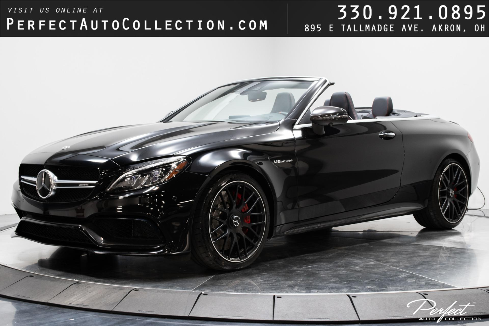 Used 2018 Mercedes-Benz C-Class AMG C 63 S Cabriolet for sale $69,393 at Perfect Auto Collection in Akron OH 44310 1