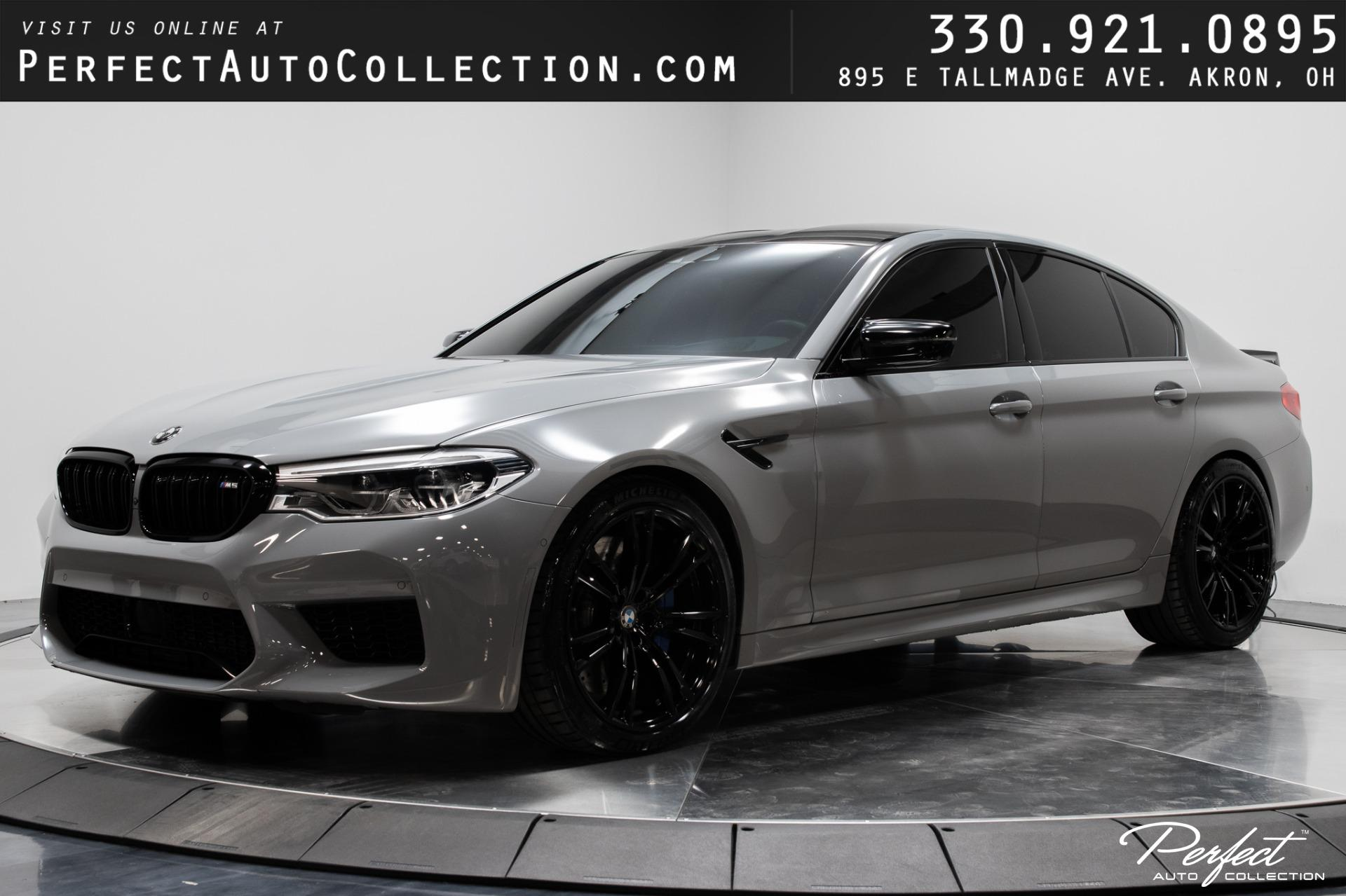 Used 2019 BMW M5 Competition for sale $99,993 at Perfect Auto Collection in Akron OH 44310 1