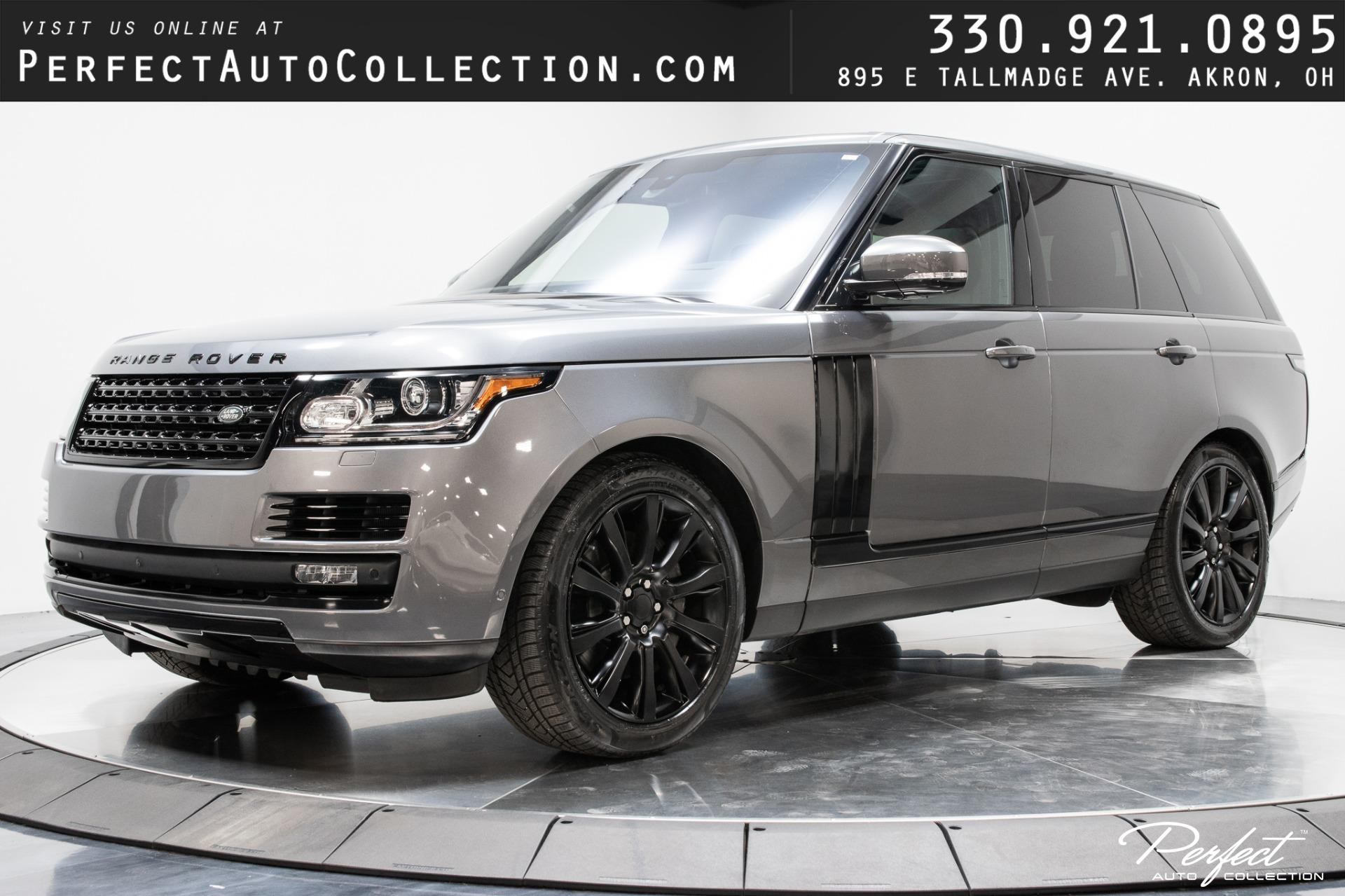 Used 2016 Land Rover Range Rover Supercharged for sale $60,993 at Perfect Auto Collection in Akron OH 44310 1