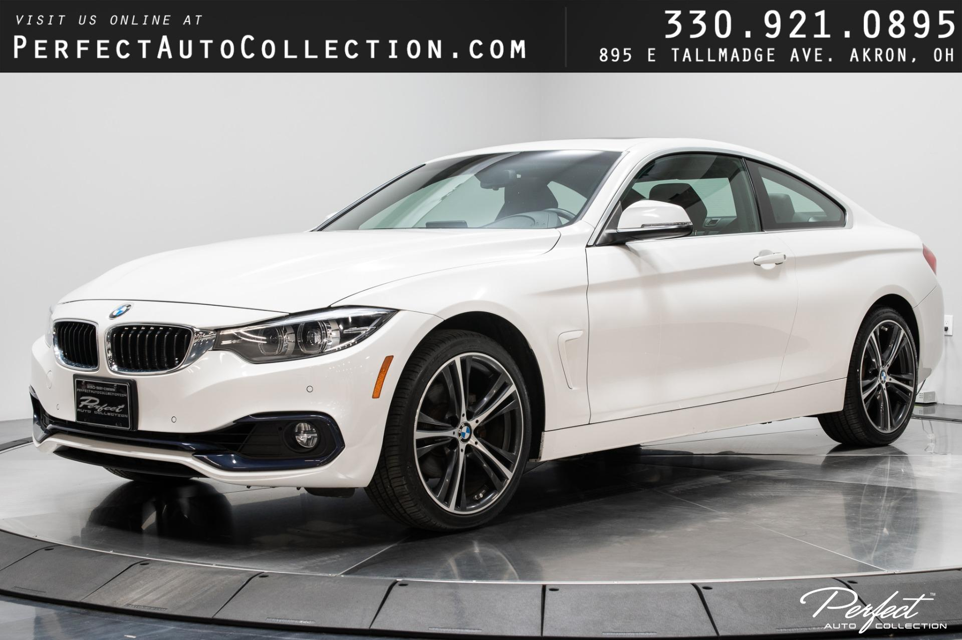 Used 2018 BMW 4 Series 430i xDrive for sale $28,495 at Perfect Auto Collection in Akron OH 44310 1