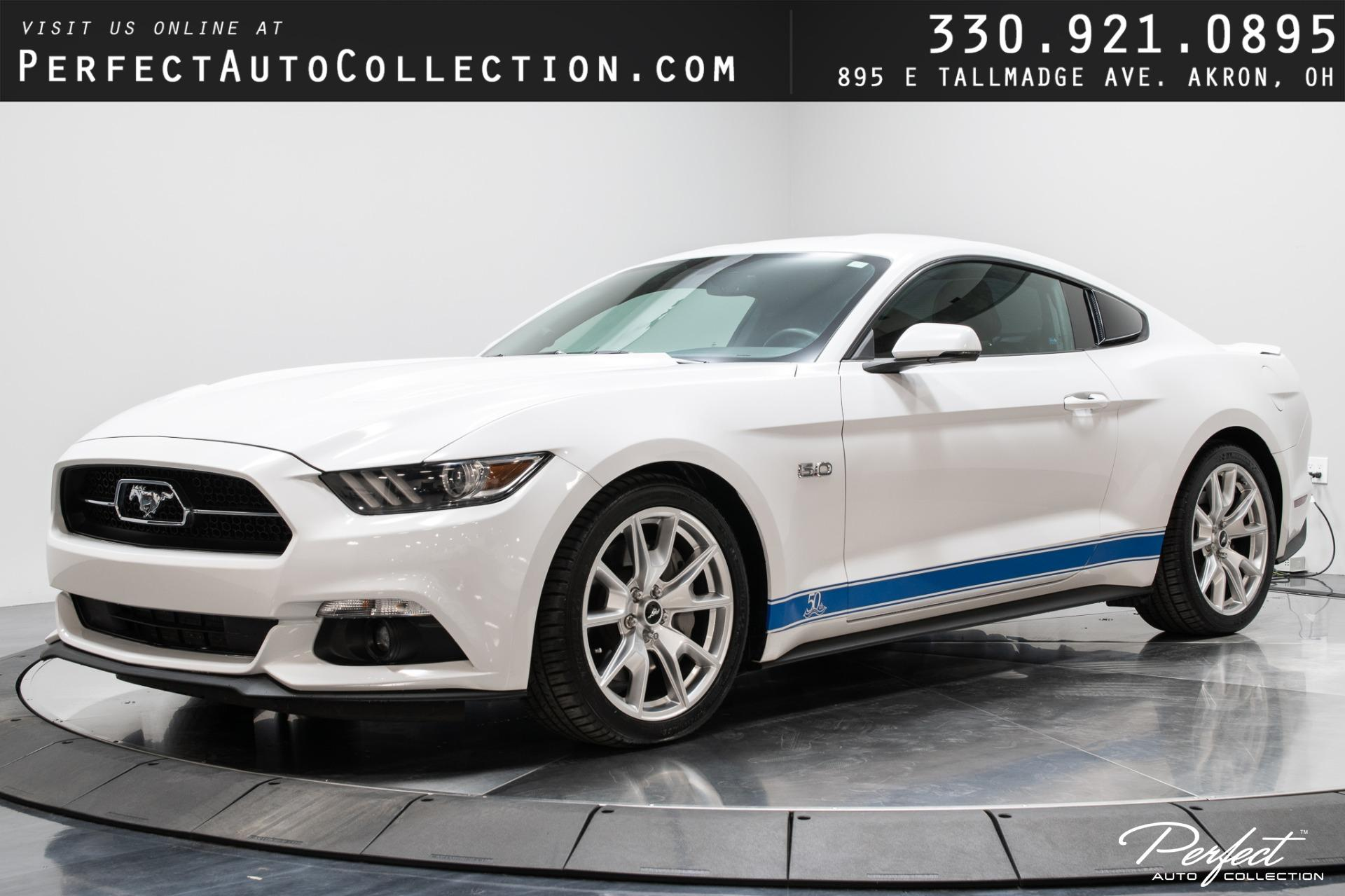 Used 2015 Ford Mustang GT 50th Anniversary Edition for sale $29,995 at Perfect Auto Collection in Akron OH 44310 1