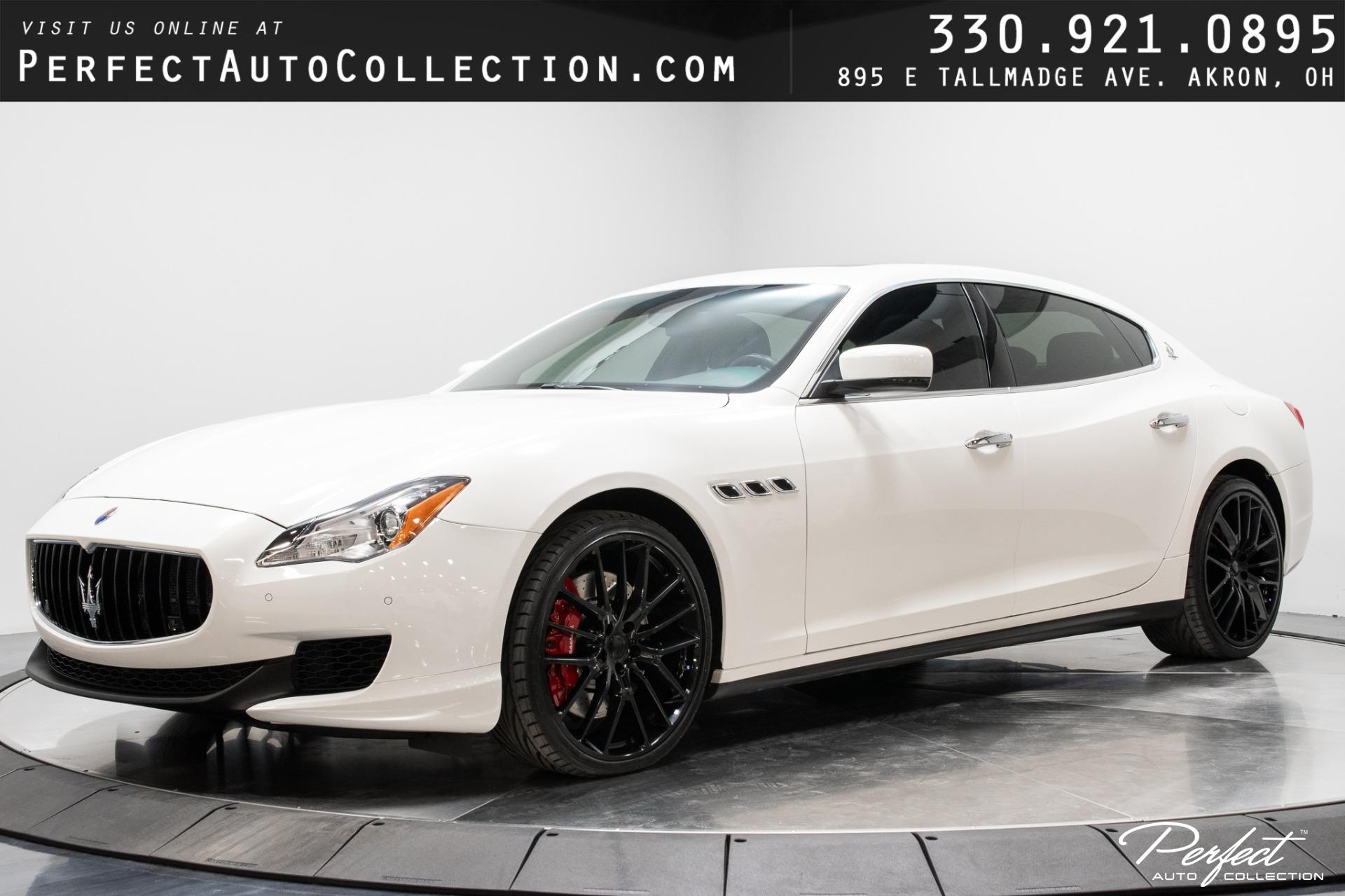 Used 2014 Maserati Quattroporte Sport GT S for sale Sold at Perfect Auto Collection in Akron OH 44310 1