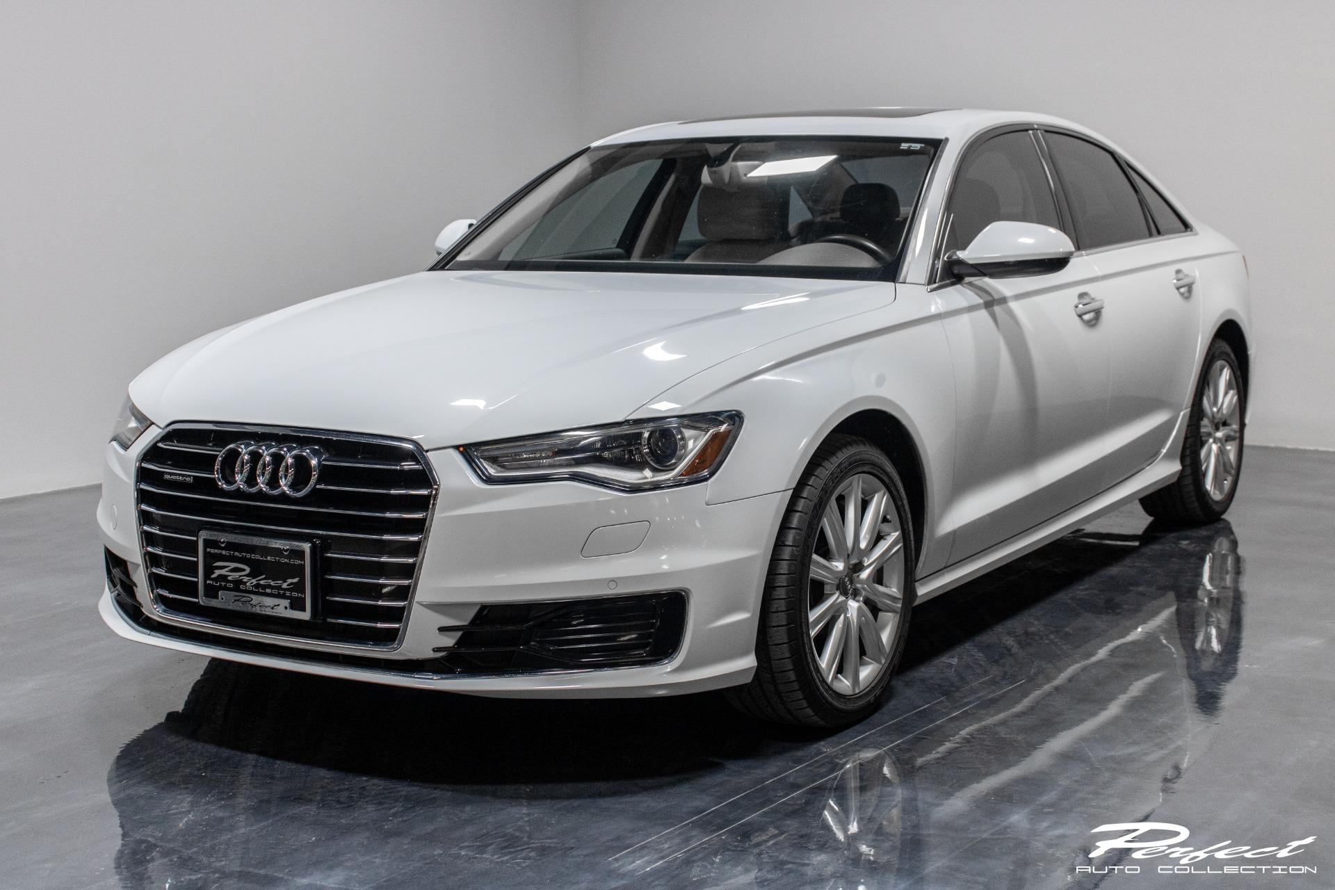 Used 2016 Audi A6 2.0T Premium Plus Sedan 4D for sale Sold at Perfect Auto Collection in Akron OH 44310 1