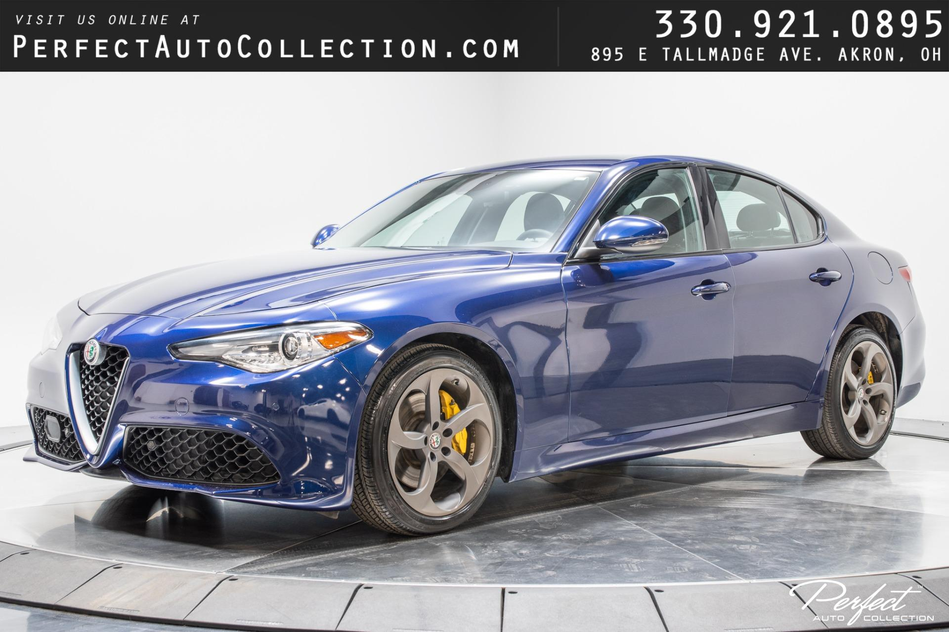 Used 2017 Alfa Romeo Giulia for sale Sold at Perfect Auto Collection in Akron OH 44310 1