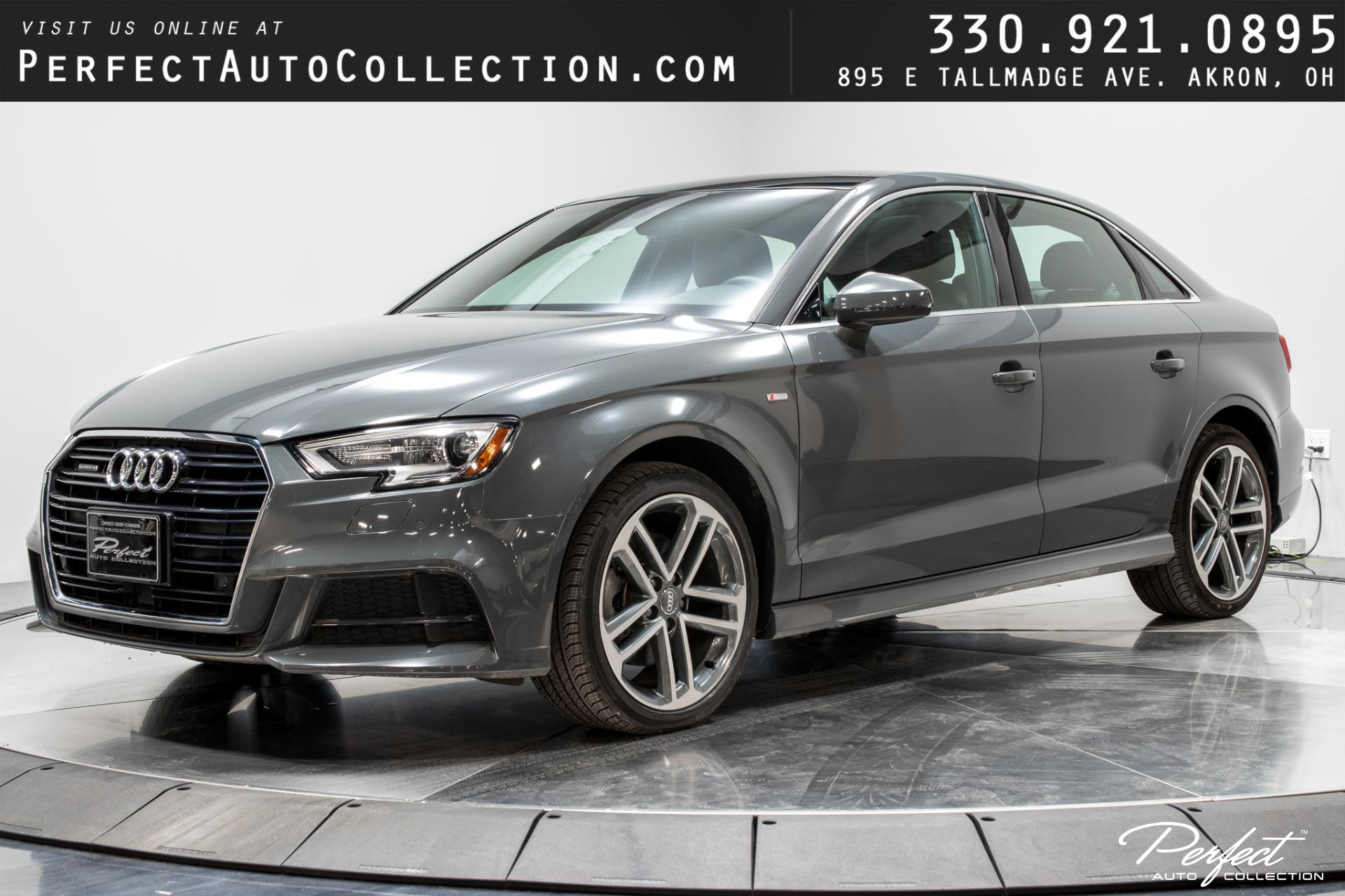 Used 2017 Audi A3 2.0T quattro Premium Plus for sale $24,593 at Perfect Auto Collection in Akron OH 44310 1