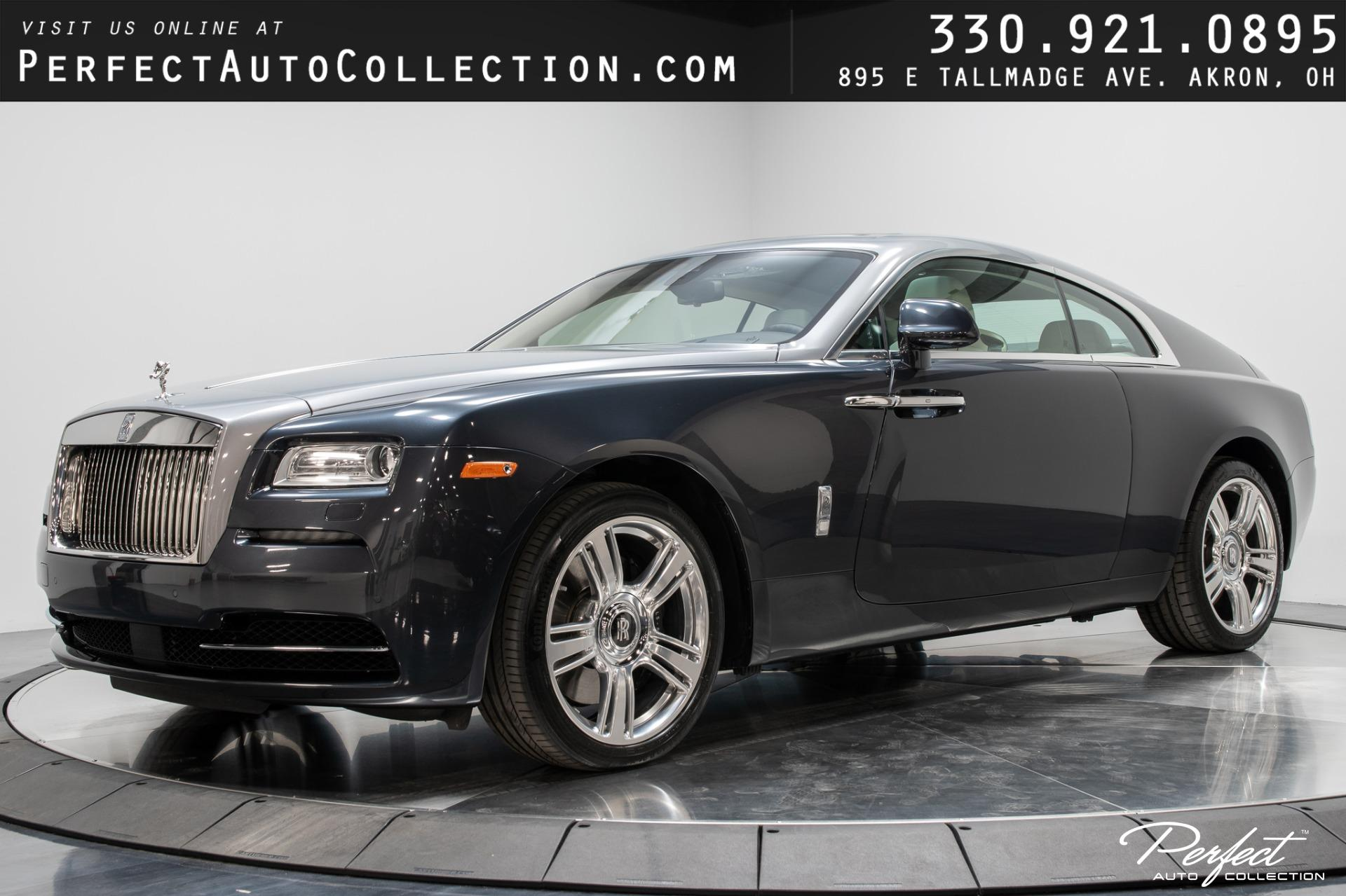 Used 2015 Rolls-Royce Wraith for sale $171,995 at Perfect Auto Collection in Akron OH 44310 1