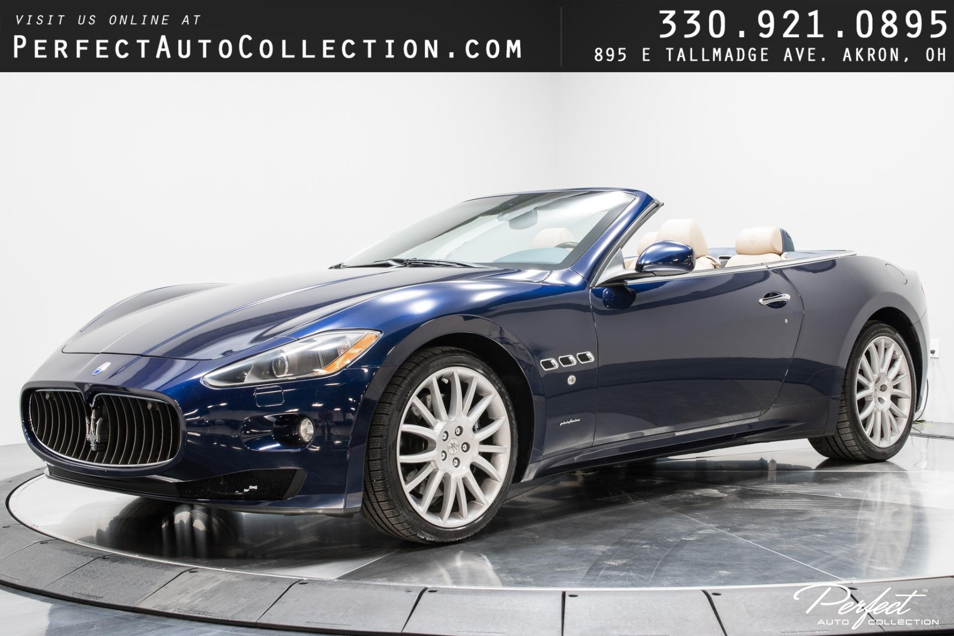 Used 2011 Maserati GranTurismo for sale Sold at Perfect Auto Collection in Akron OH 44310 1