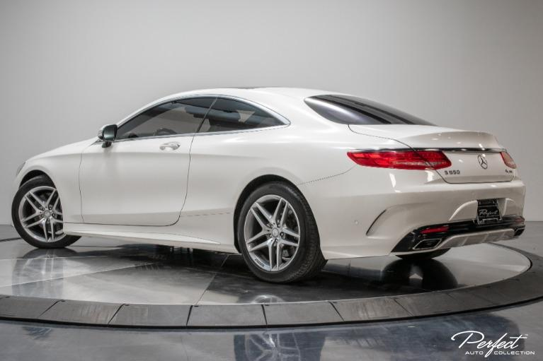 Used 2016 Mercedes Benz S Class S 550 4MATIC